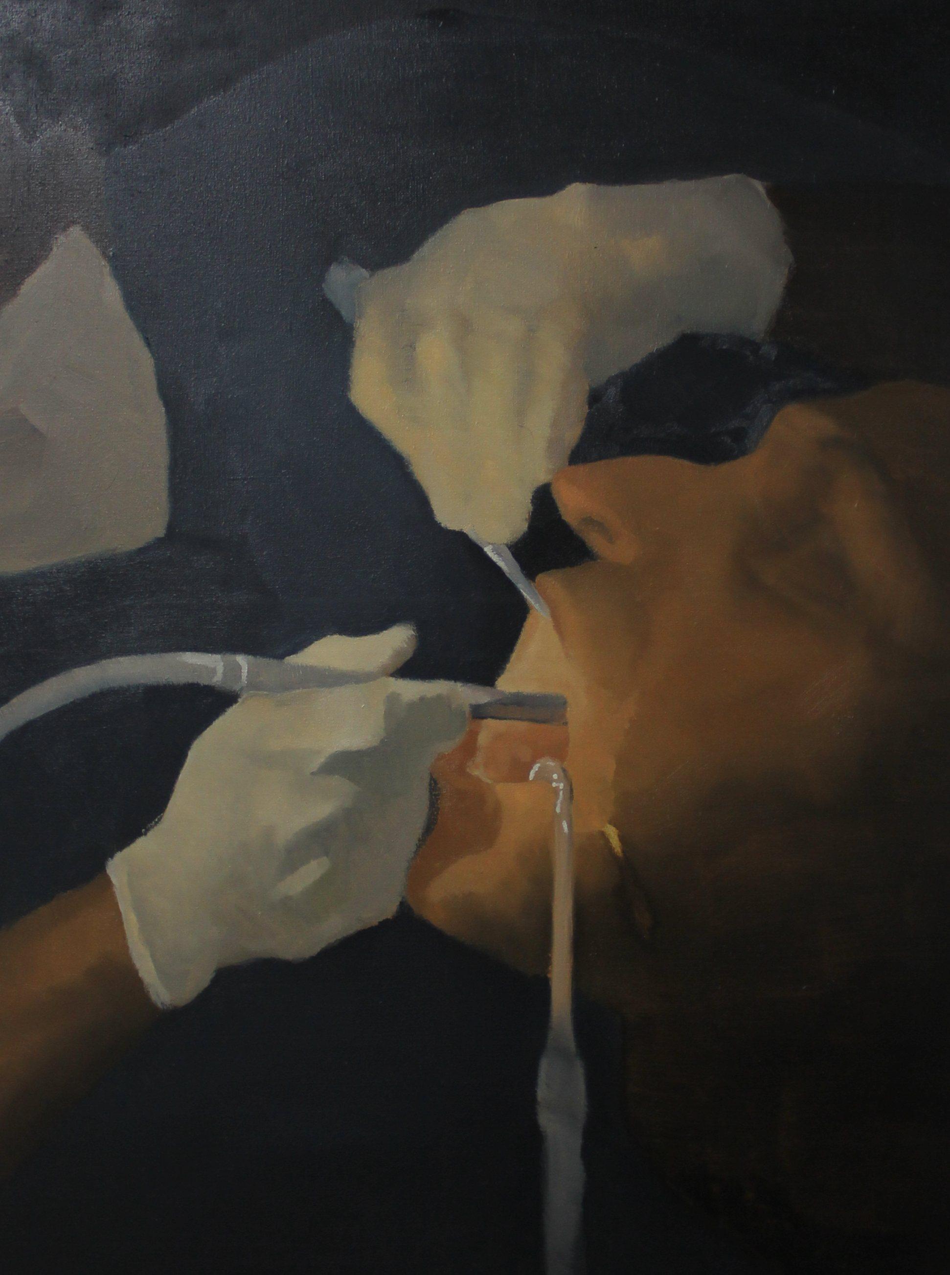 Dentist,2012,60cm x 80cm, Oil on canvas.jpg