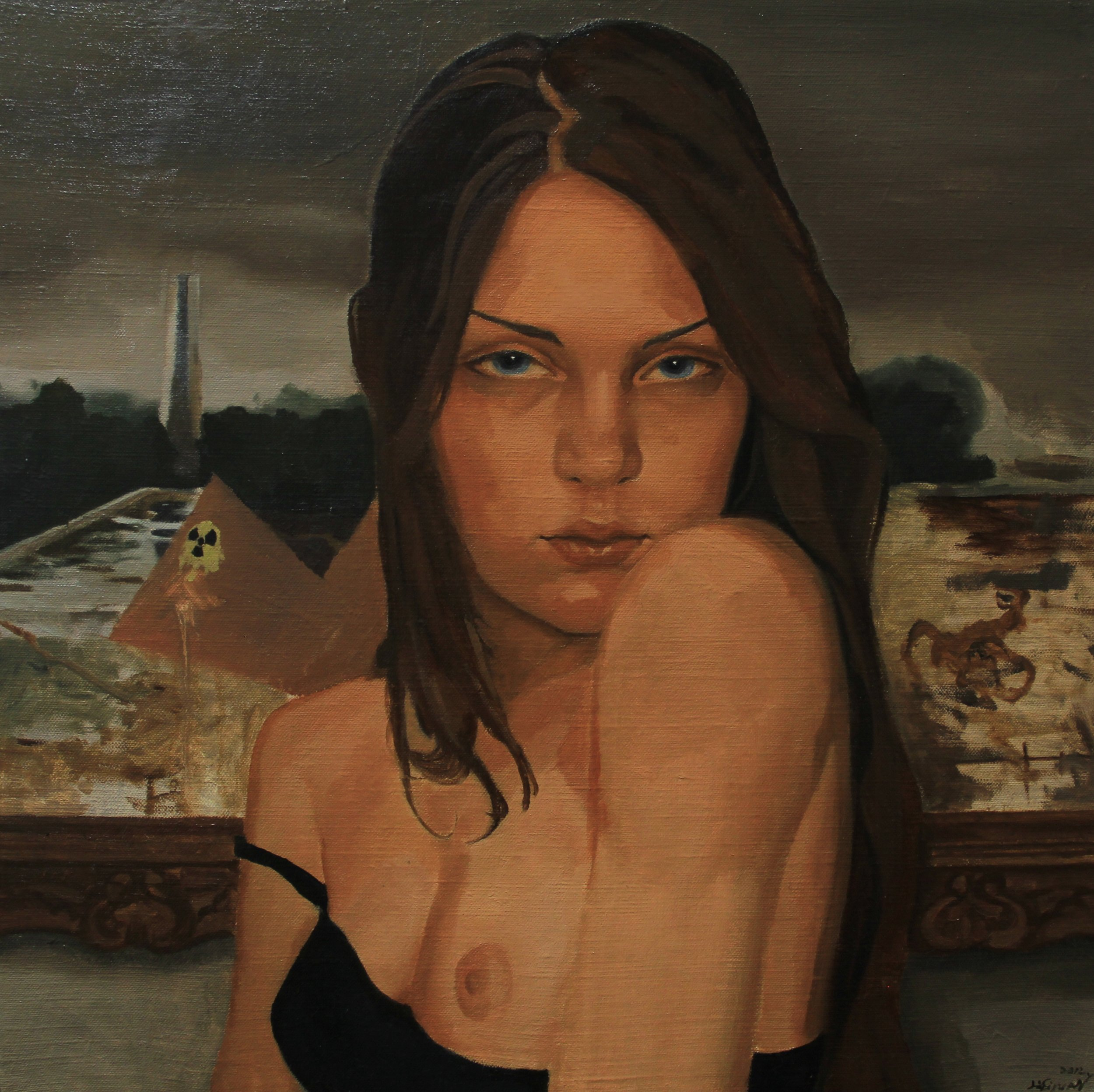 Girl,2012, 60cm x 60cm, Oil on canvas.jpg