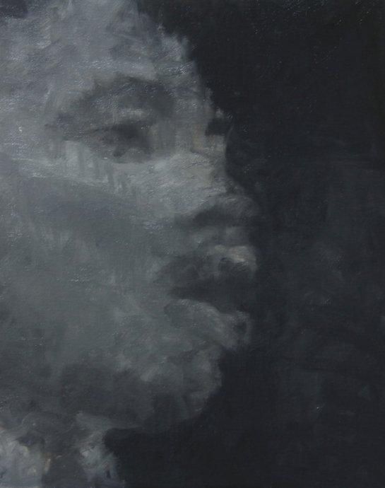 Martin Luther King, Jr., 2012, 24cm x 30cm, Oil on canvas.jpg