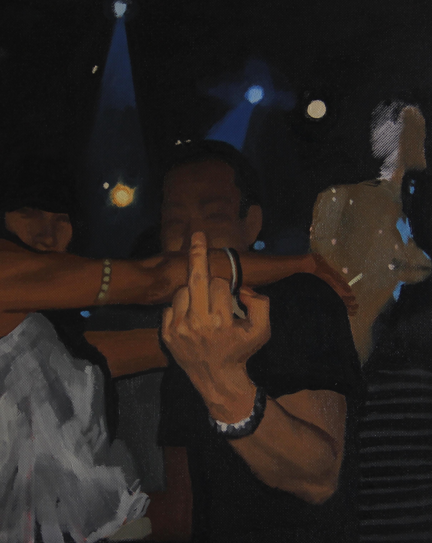Party,2011 ,30cm x 24cm, Oil on canvas.jpg
