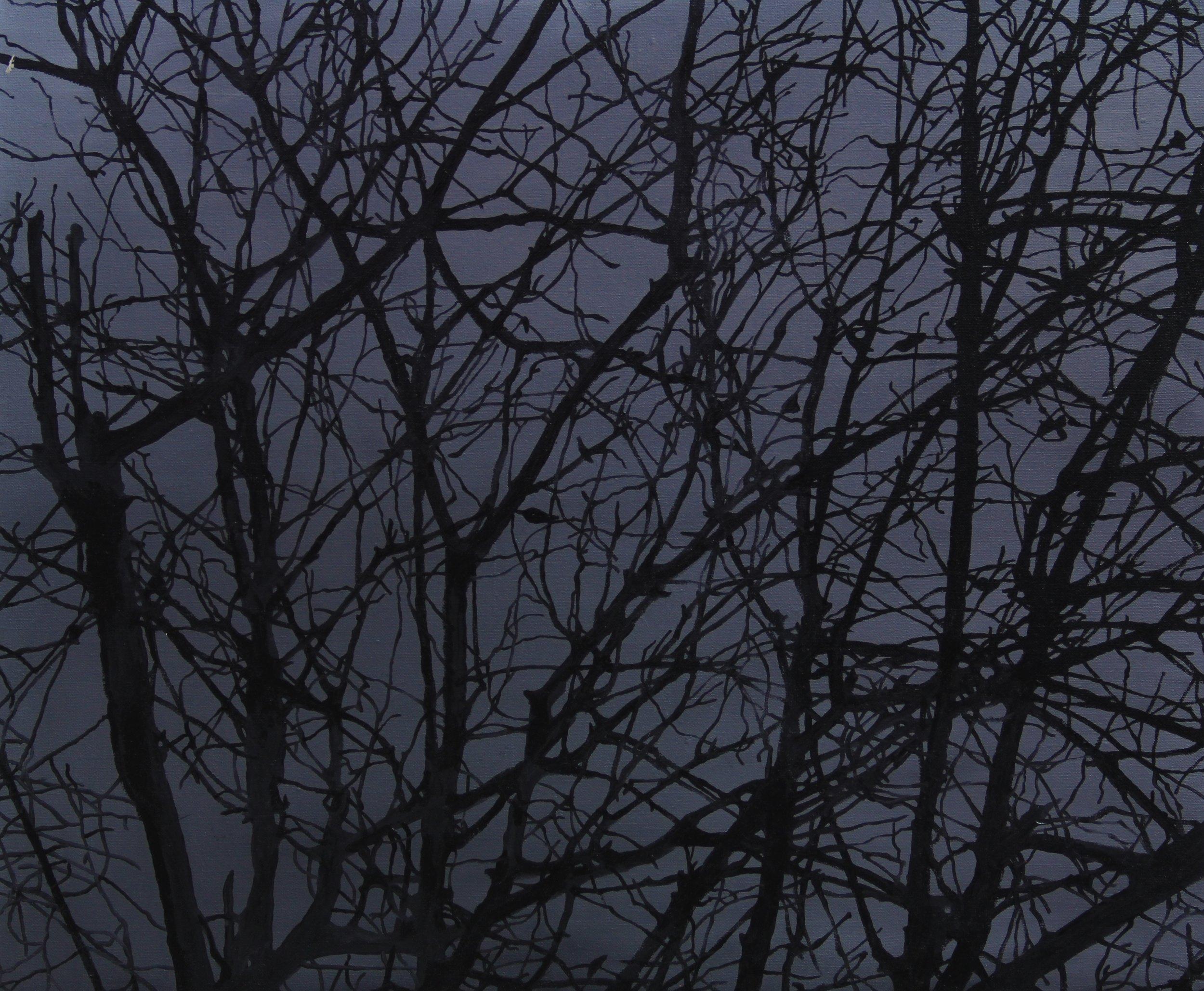 Trees,2012,50cm x 60cm, Oil on canvas.jpg