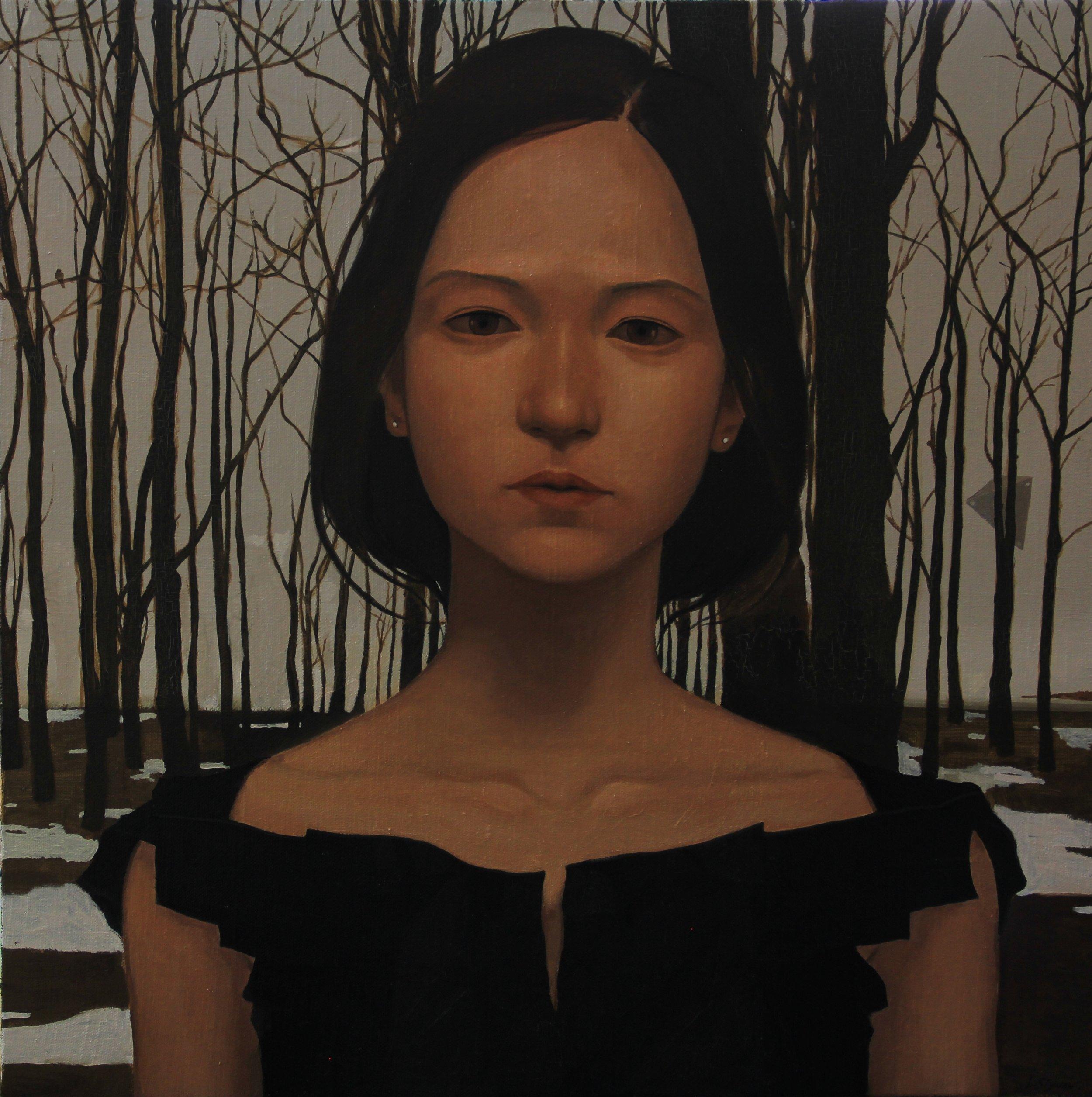 Yanzi,2013, 60cm  x 60cm, Oil on canvas.jpg