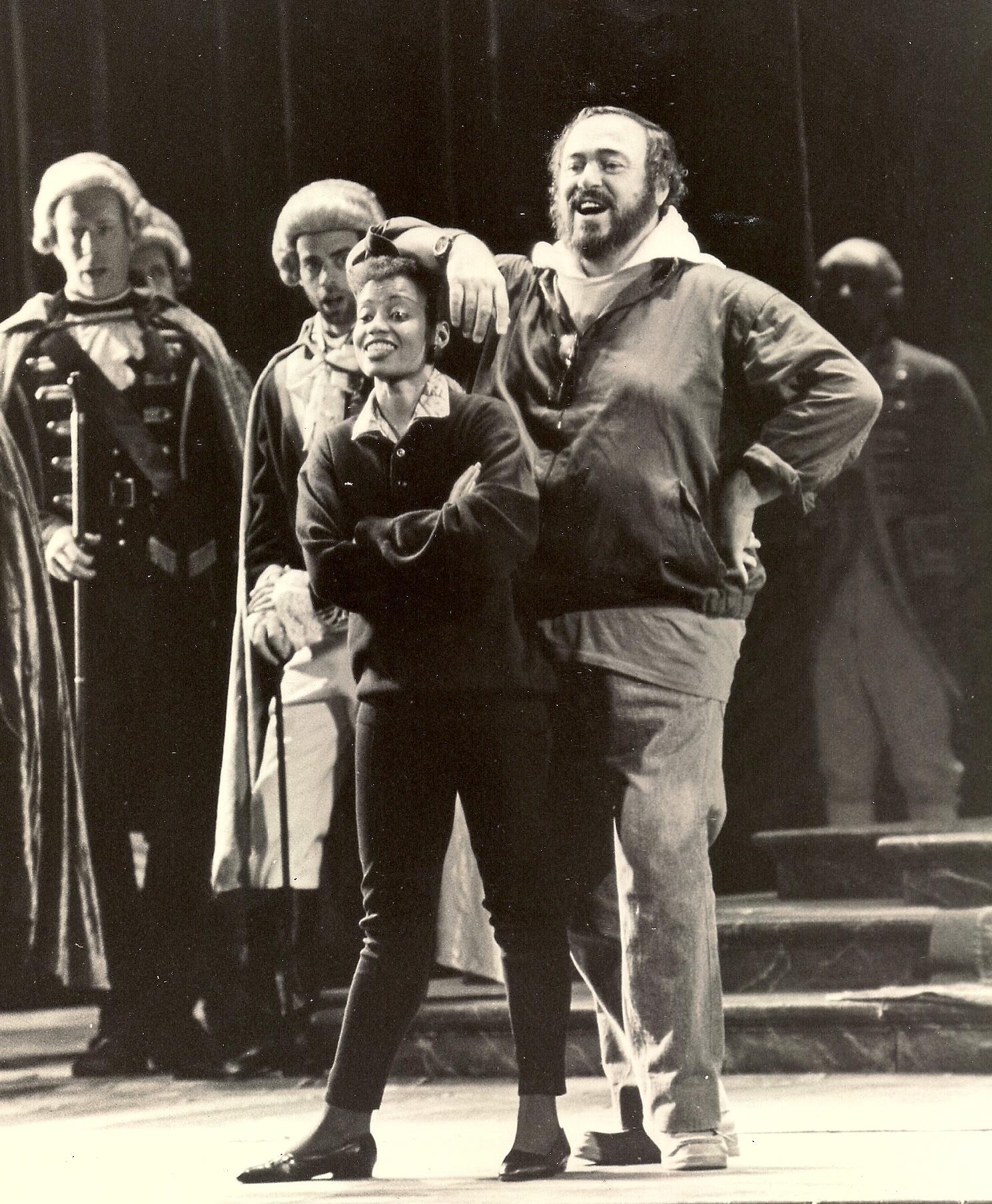 Un Ballo in Maschera, Rehearsal,Met Opera