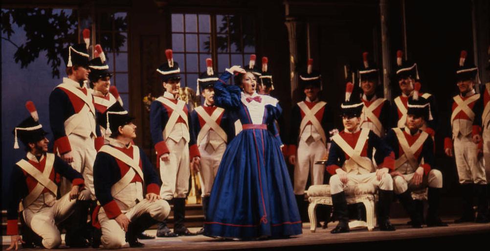 Marie in  La Fille du Régiment , Seattle Opera