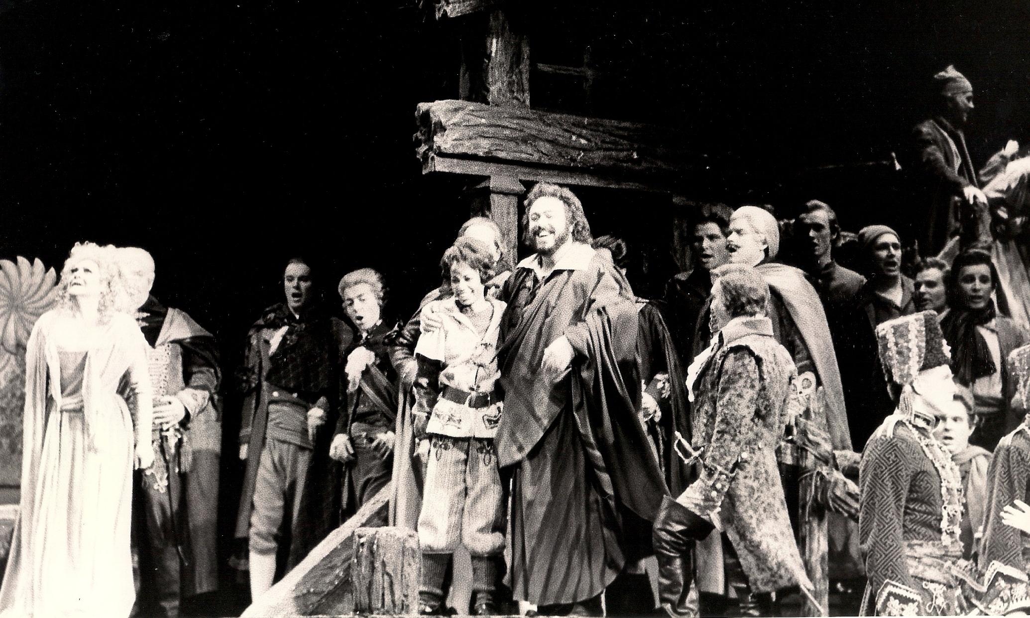 Oscar in  Un Ballo in Maschera , Lyric Opera of Chicago