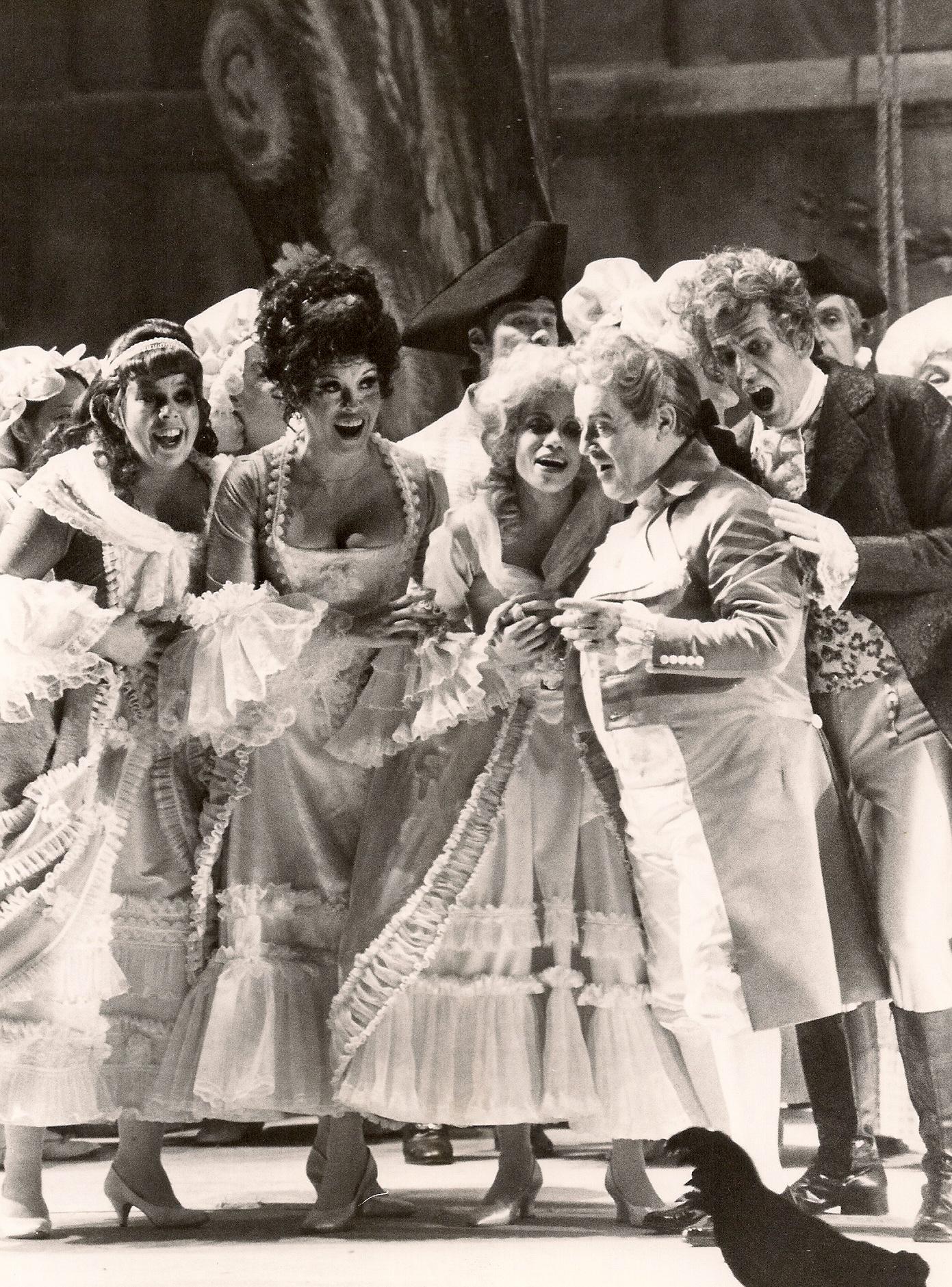 Poussette in  Manon,  The Metropolitain Opera