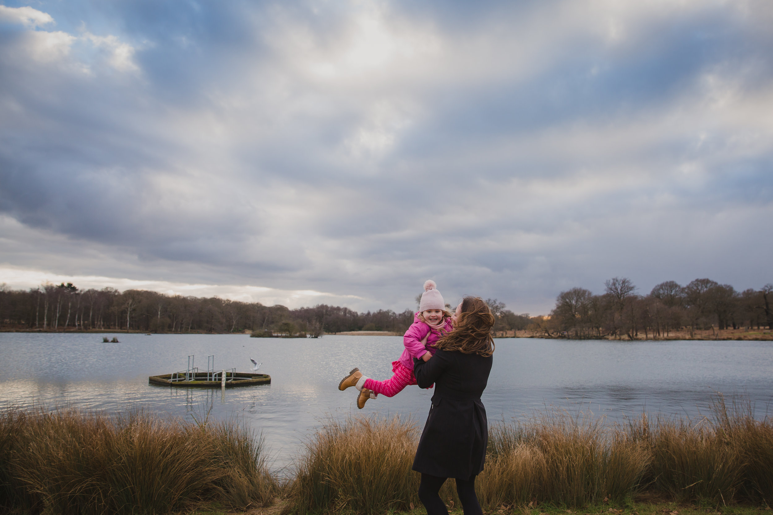 Mum spinning daughter | Southfields Family Photographer