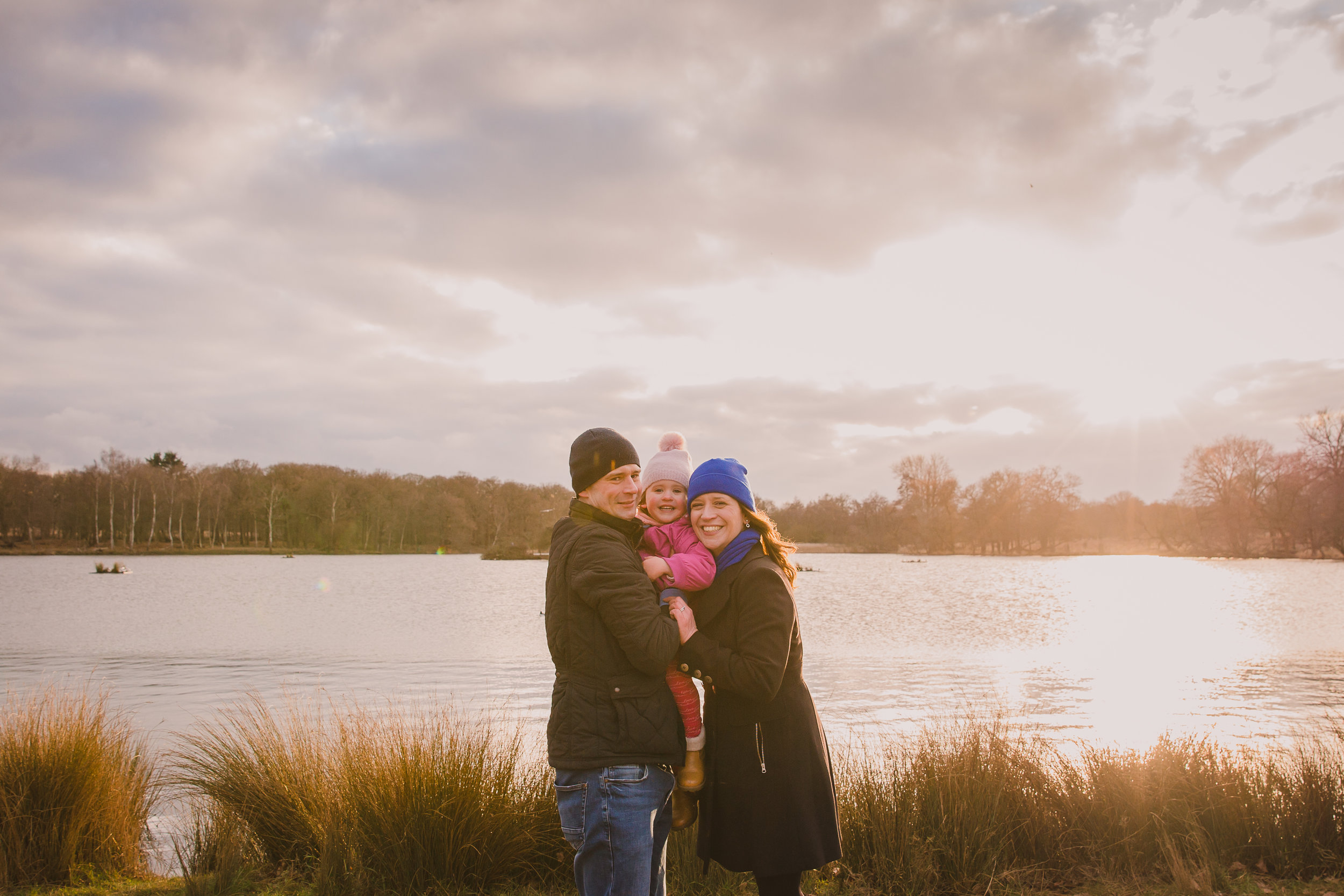 Family sunset photoshoot | London Lifestyle Photography