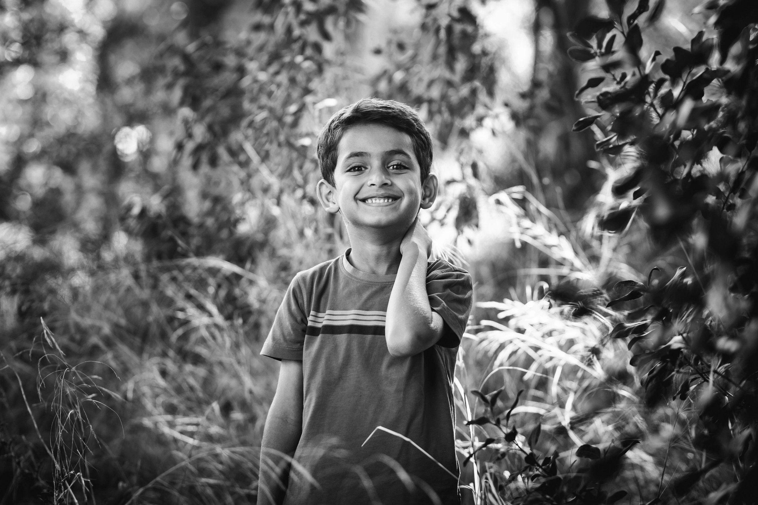 Portrait of a boy - Marbella, Spain