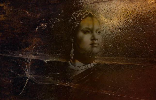 """Visitations, Portraits for Imani"" (2018)  Explore Barbara Tyroler's full series  here ."