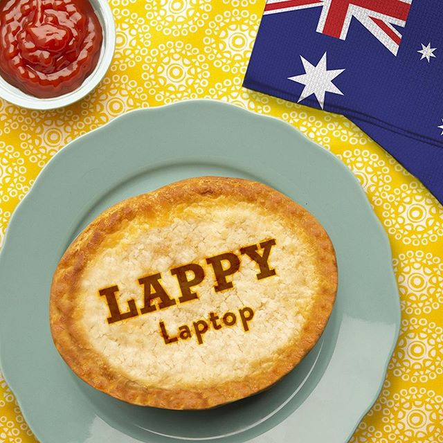 Australians - (or Aussies😉) - love to shorten their words. Give this cute nickname for your laptop a try!