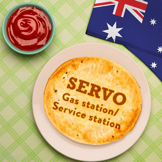 """🇦🇺 In true Aussie fashion, brevity in shortened words.😎 This week our #AussieWord of the week is a """"Servo""""!"""
