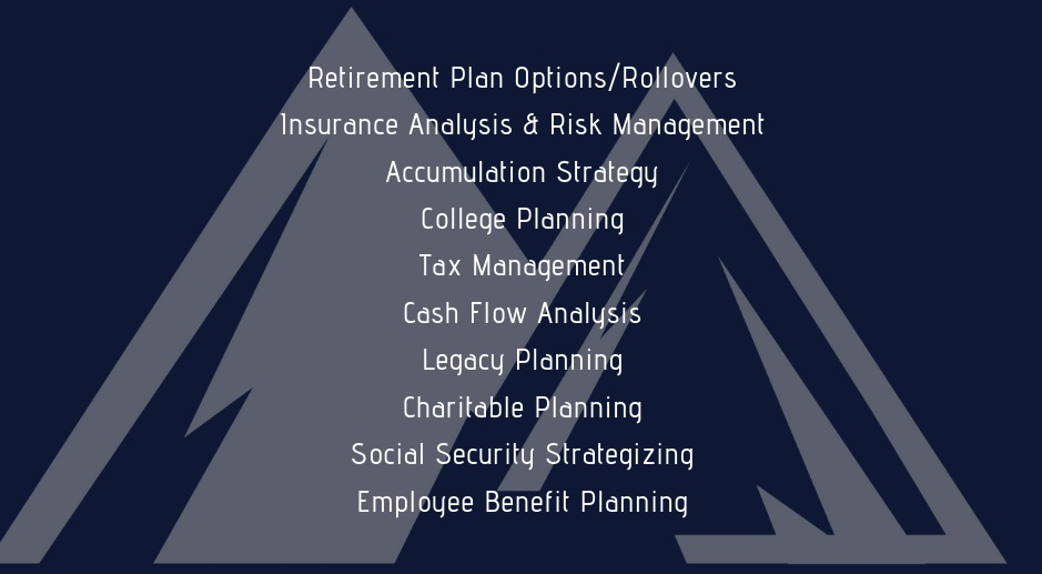 List of Arvada Financial Services