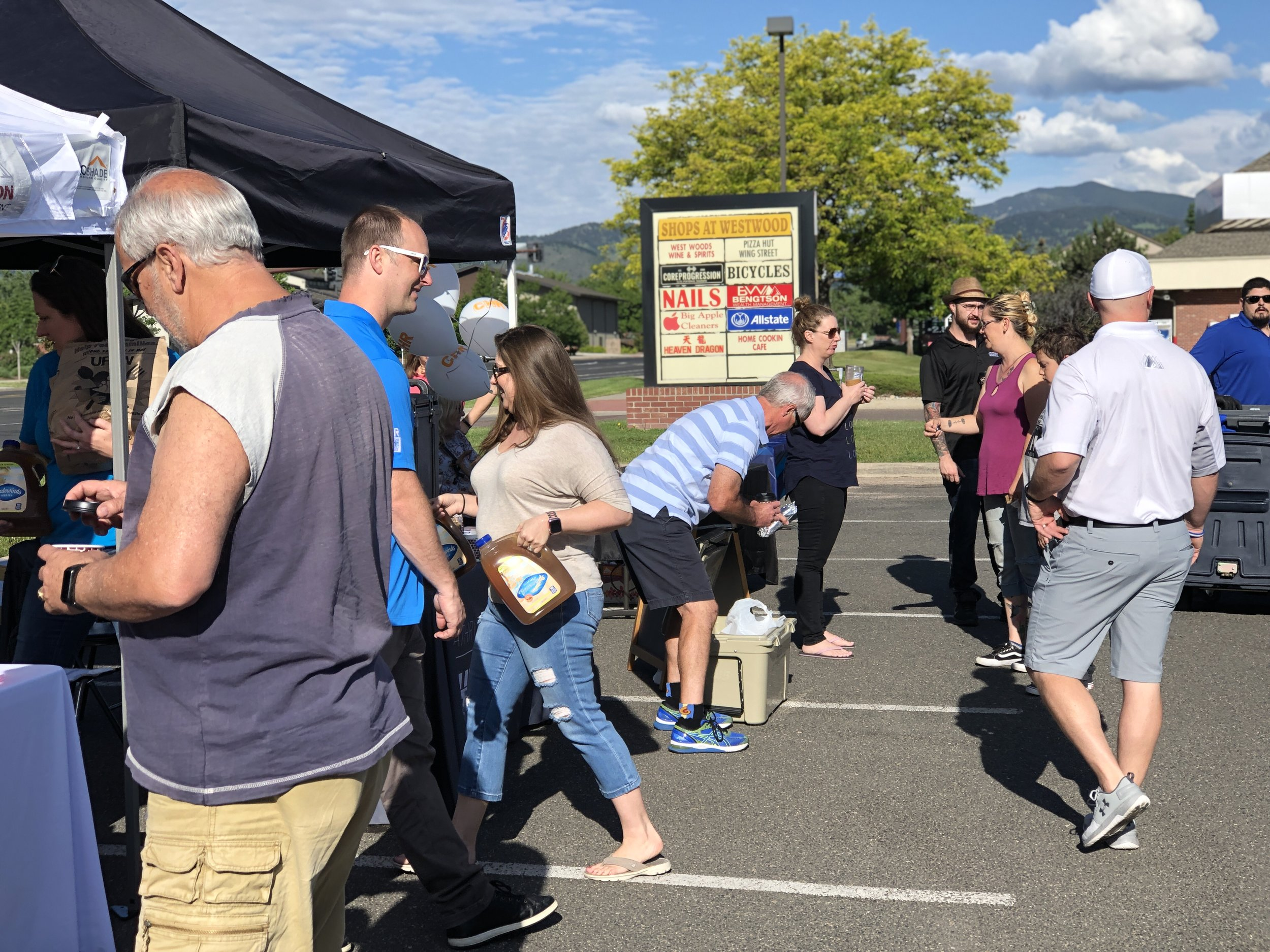 West Arvada Financial Planner Shred Event