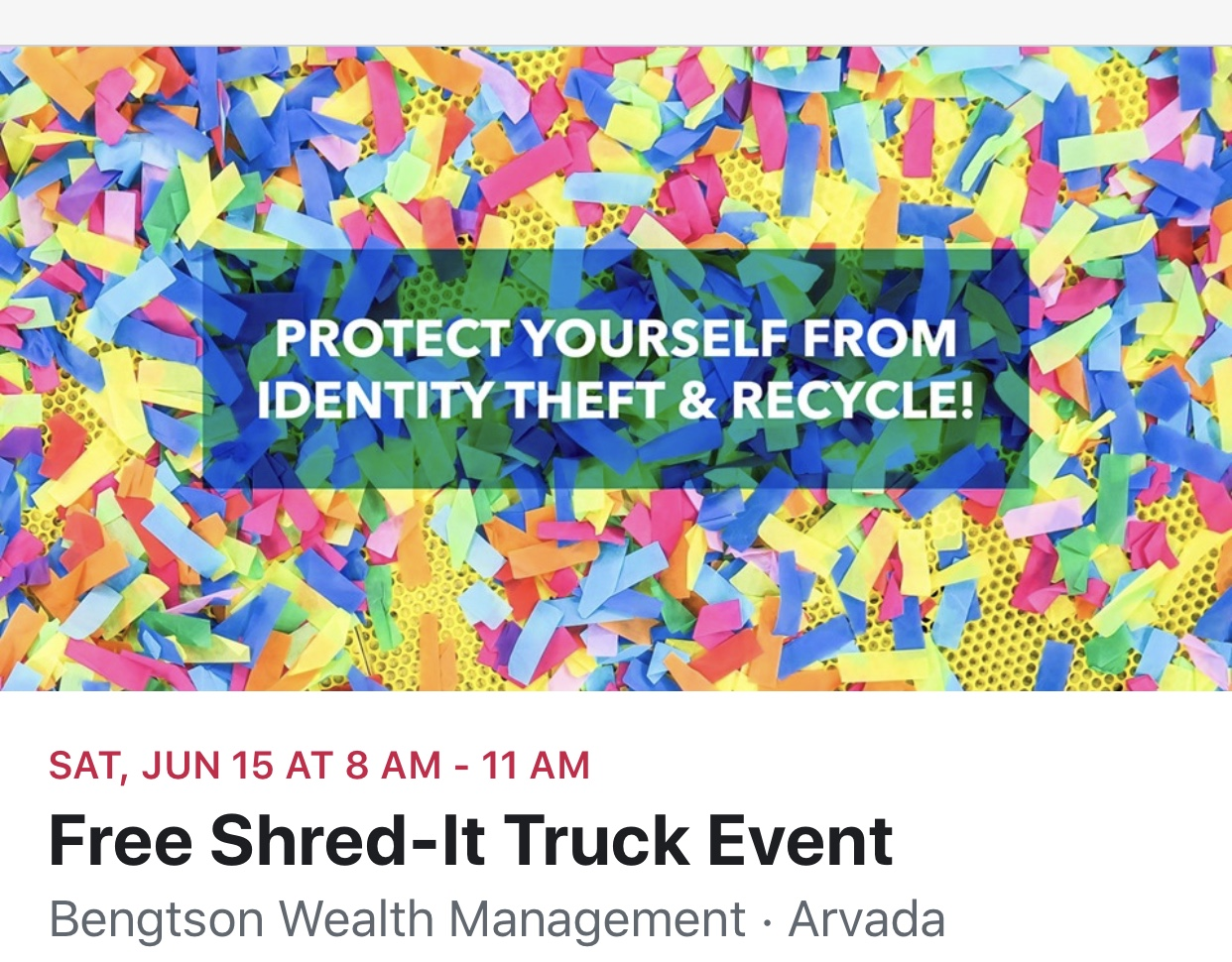 Arvada Shred Events