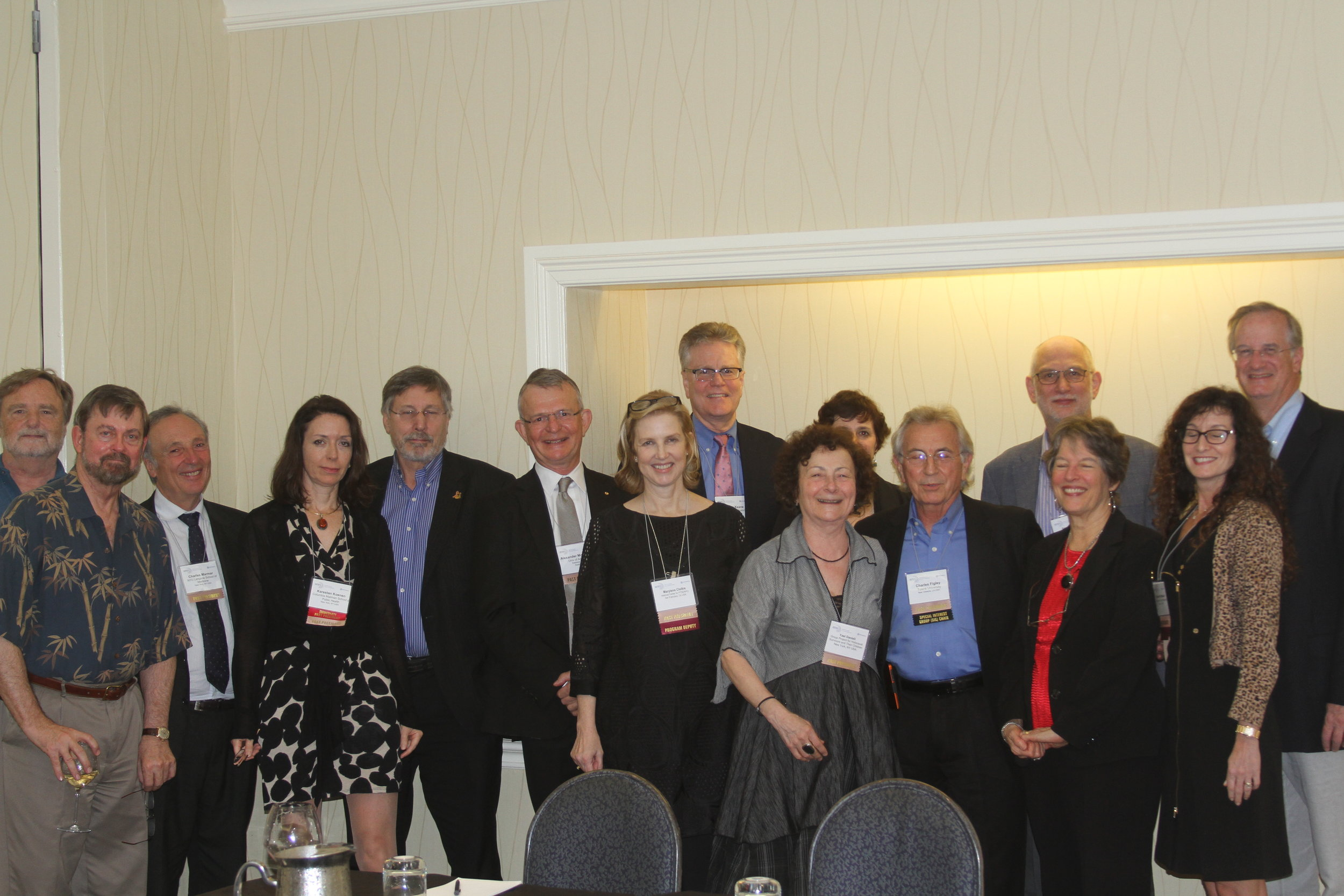 Copy of ISTSS Past Presidents
