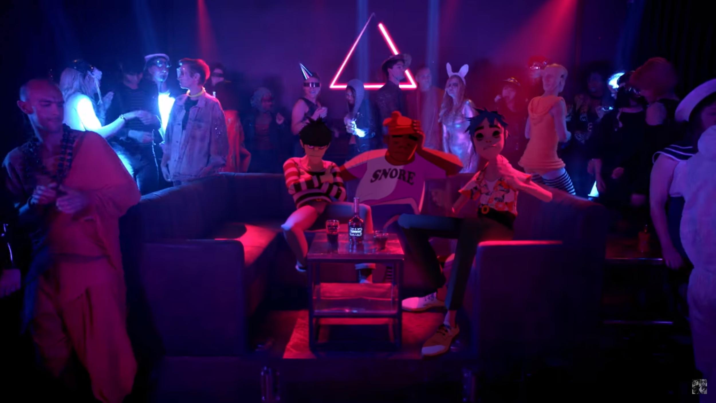 "Watch Gorillaz New Video for Single, ""Strobelight"""