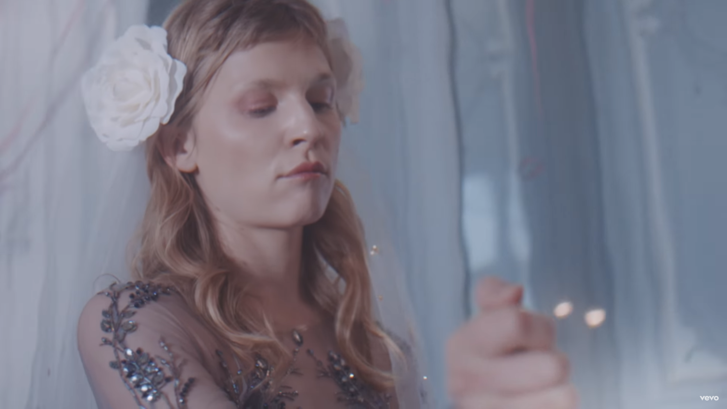 """Watch Rainbows Being Fired Out of Nipples on Grizzly Bear's Odd New Music Video For """"Mourning Sound"""""""
