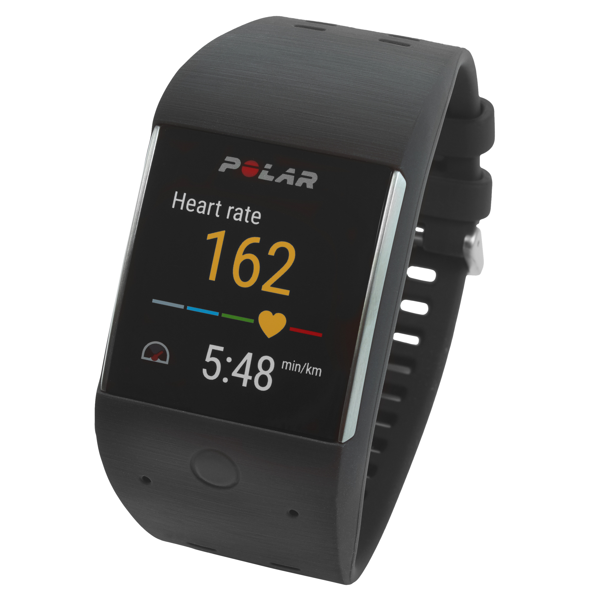 Polar Sport Smartwatch  - Tracks daily activity, training sessions and fitness goals - Waterproof up to 10 m - Integrated GPS and Wi-Fi