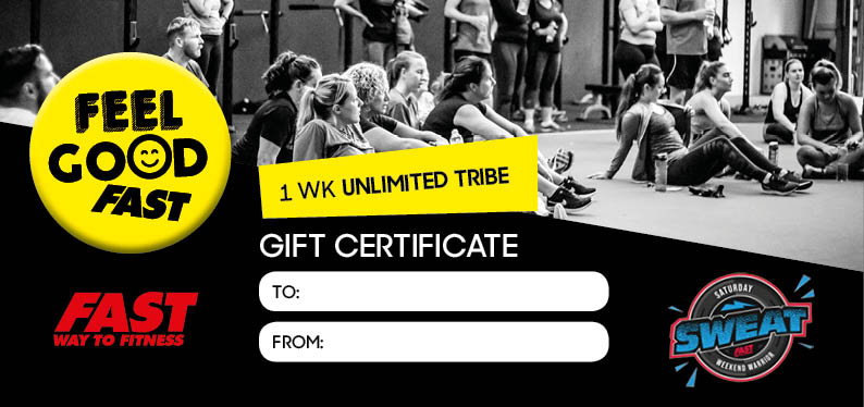 £10 gift (for her) - I week of Unlimited Tribe Classes PLUS Sat Sweat