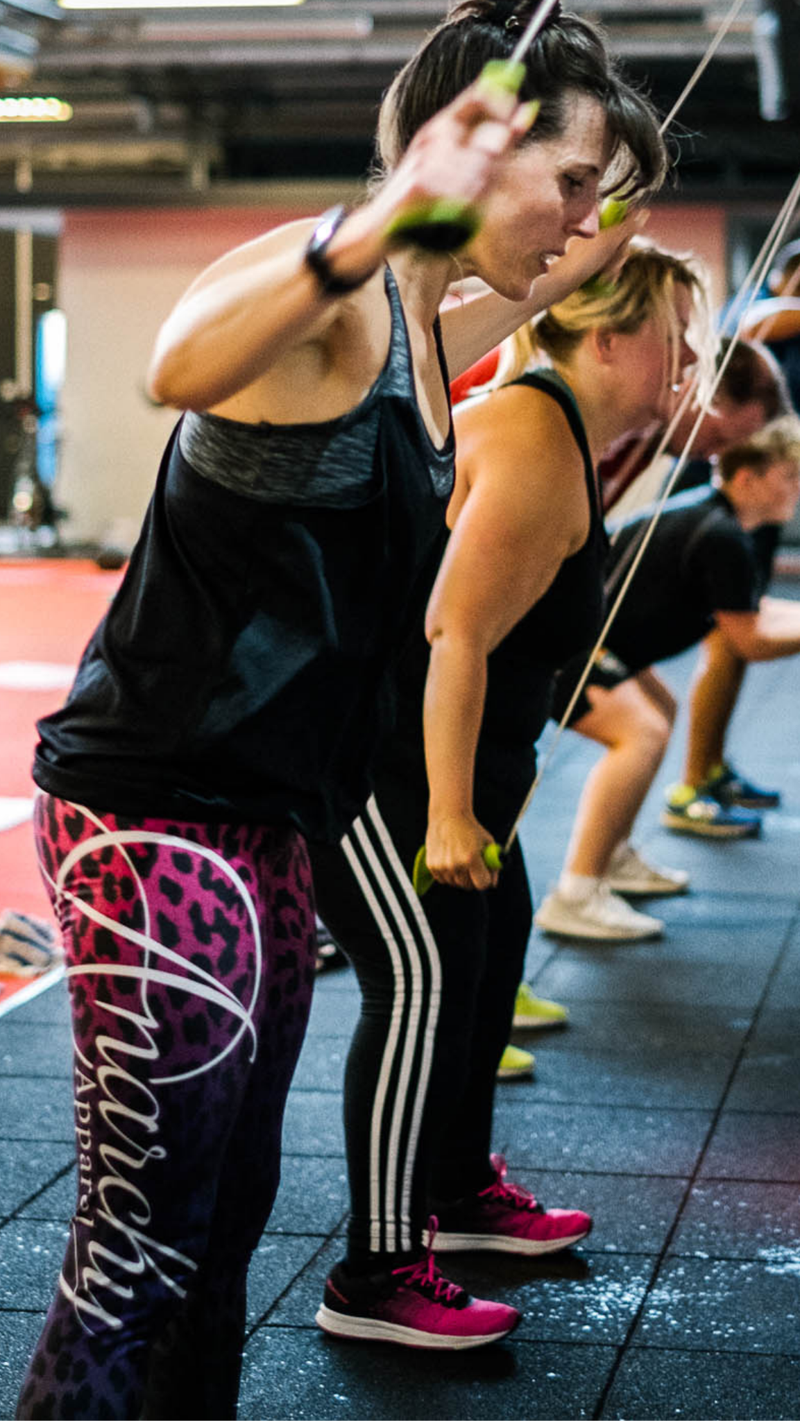 Ski ergs, Rowers, Bikes and burpees - Looking to be able to push yourself that little bit harder, recover faster and give yourself the ability to run, move and live in the Fast Lane… Our Get Fit Class will help you get your heart and lungs working!