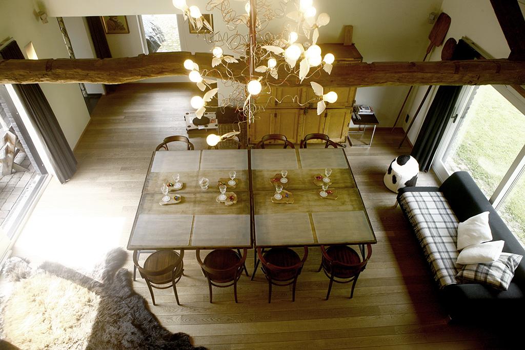 Vergadertafel voor 8 personen
