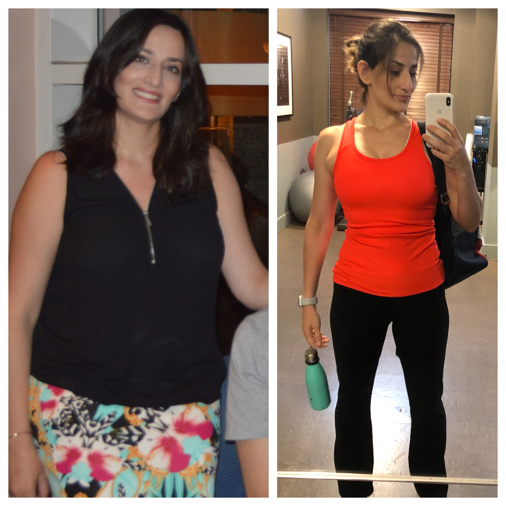 MY FITNESS JOURNEY,   On the left is me in 2016. Who took care of everyone in the family. Trying to fix my sons severe eczema and allergies holistically. Taking care of a demanding toddler. But never had or made time for my own health. I gained 20 lbs 6 months after I gave birth because I was stressed, my hormones were imbalanced, always grumpy and moody. I was an emotional/ binge eater, I felt like a failure most of the time because I felt like crap about my body and I wasn't able to fix my sons skin issues, he was in constant pain so was I, I was depressed. This cycle continued for a while, and I continued to gain weight until I was able to take charge, educate myself about how food works in my body. Macros based dieting saved my life. I lost 35 lb without restricting myself of any food chains.     WHAT IS MACROS BASED NUTRITIONAL STRATEGY?   Macros based diet or IIFYM is a Nutritional strategy that stands for If It Fits Your Macros . It helps users lose weight by tracking macronutrients ( protein , fat, and carbohydrates) without restricting food choices. Macros are the only place calories come from so by hitting macros, users inherently hit weight loss calories. There are several apps that track macros especially My Fitness Pal. You add your macros based on your goals and you can track them on daily basis,  I am ready to help other women out there who are struggling the same way I did. Contact me for your FREE 30 min Macros Coaching Guide!