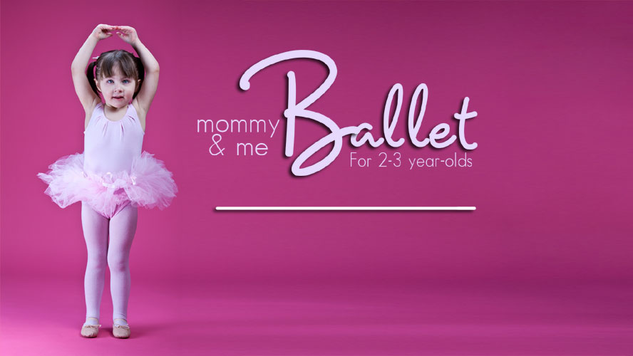 Mommy & Me Ballet - In a relaxed and friendly environment, this class, taught by dance instructor Ciara Salvini, is designed for children ages 2-3 years old. Class includes free play time and creative movement, manners training and tea party time, and final dance recital. Mommies are needed to aid their children in participating and following directions as they learn basic ballet terminology and positions.Wednesdays, October 9 - November 1310:00-11:00 amWexford, Kidzburgh 3 Year Old RoomRegistration is Closed