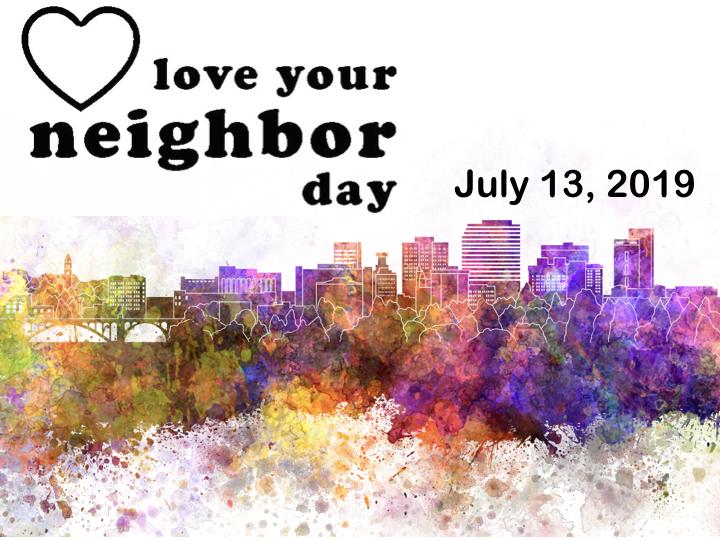Spokane first presbyterian love your neighbor day