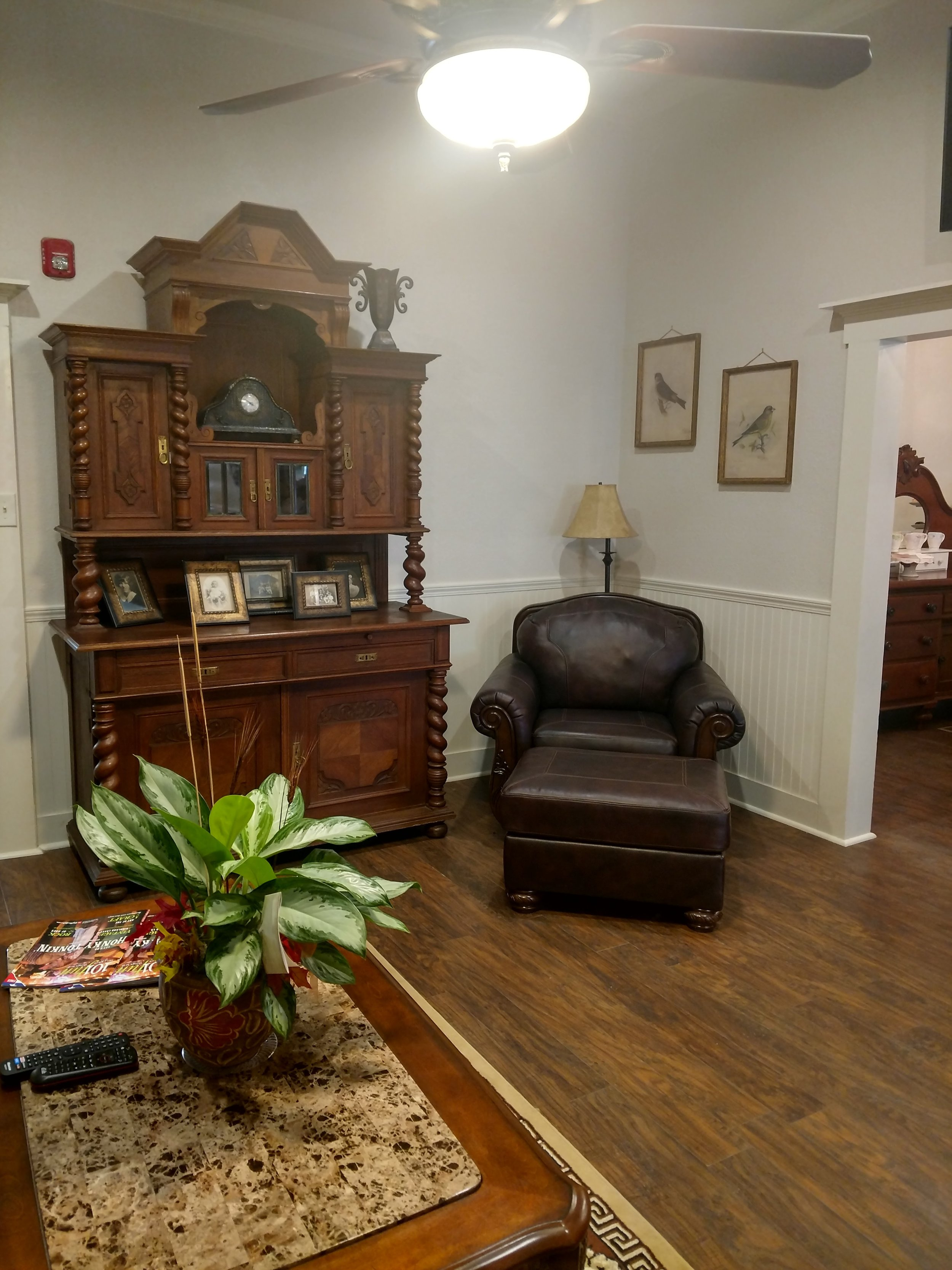 Living Room Chair and Decorative Furniture Piece