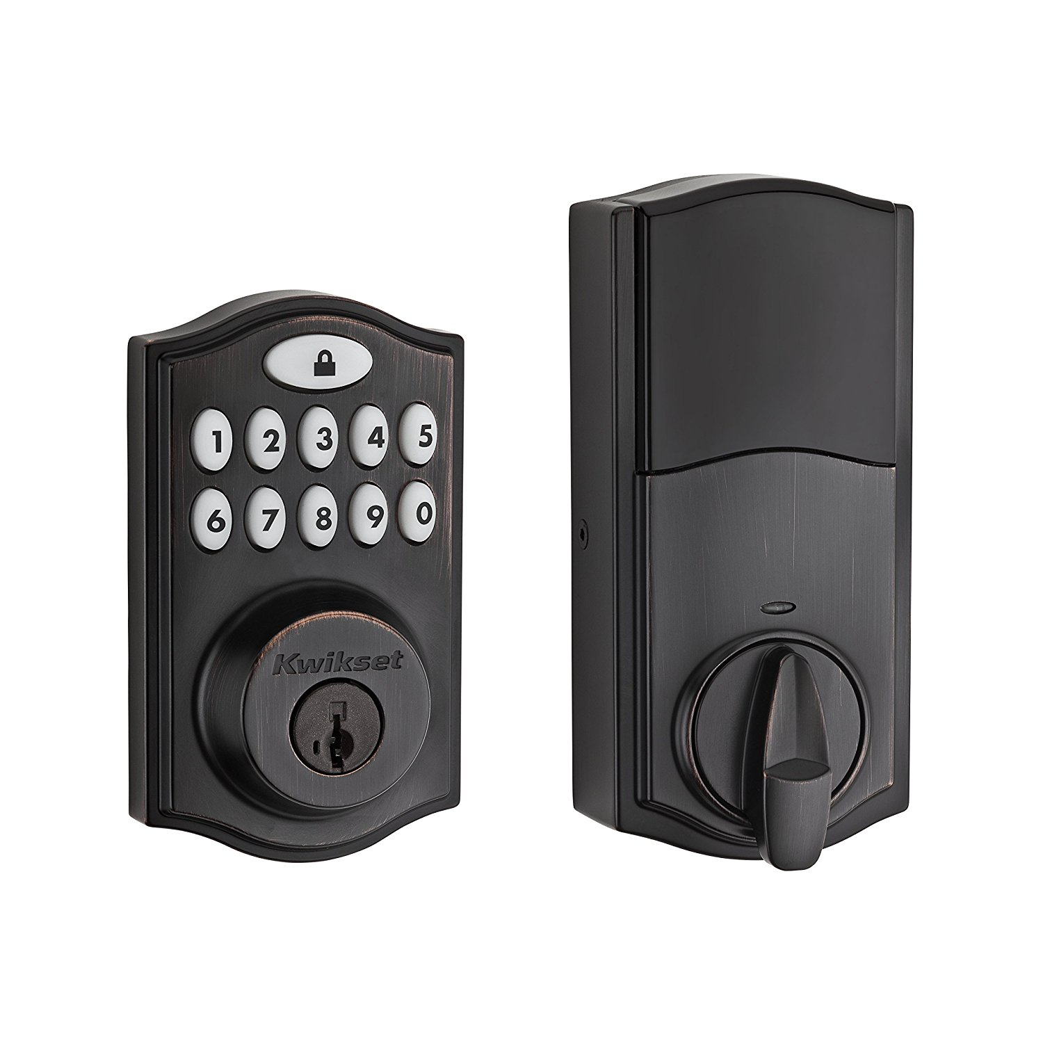 Deadbolt - The deadbolt style smart lock is the most common lock replacement. Available in most standard colors and different styles you can find one to match your home.