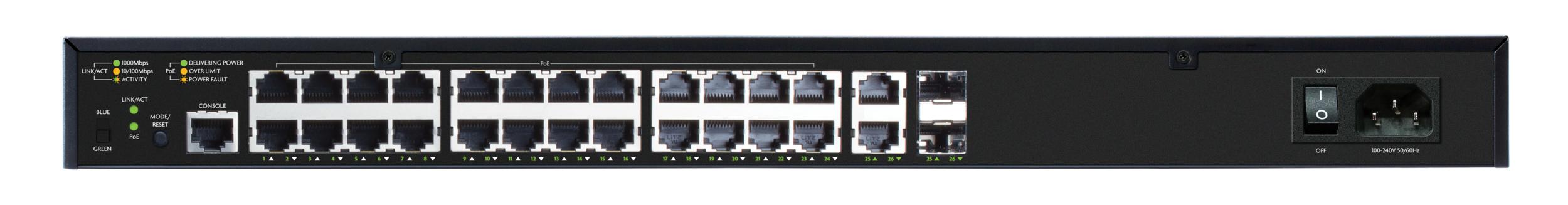 Switches - Network Switches allow all of your devices to be hard wired together. They come in all shapes and sizes depending on your needs. Some provide power to touchscreens, access points and cameras via PoE.
