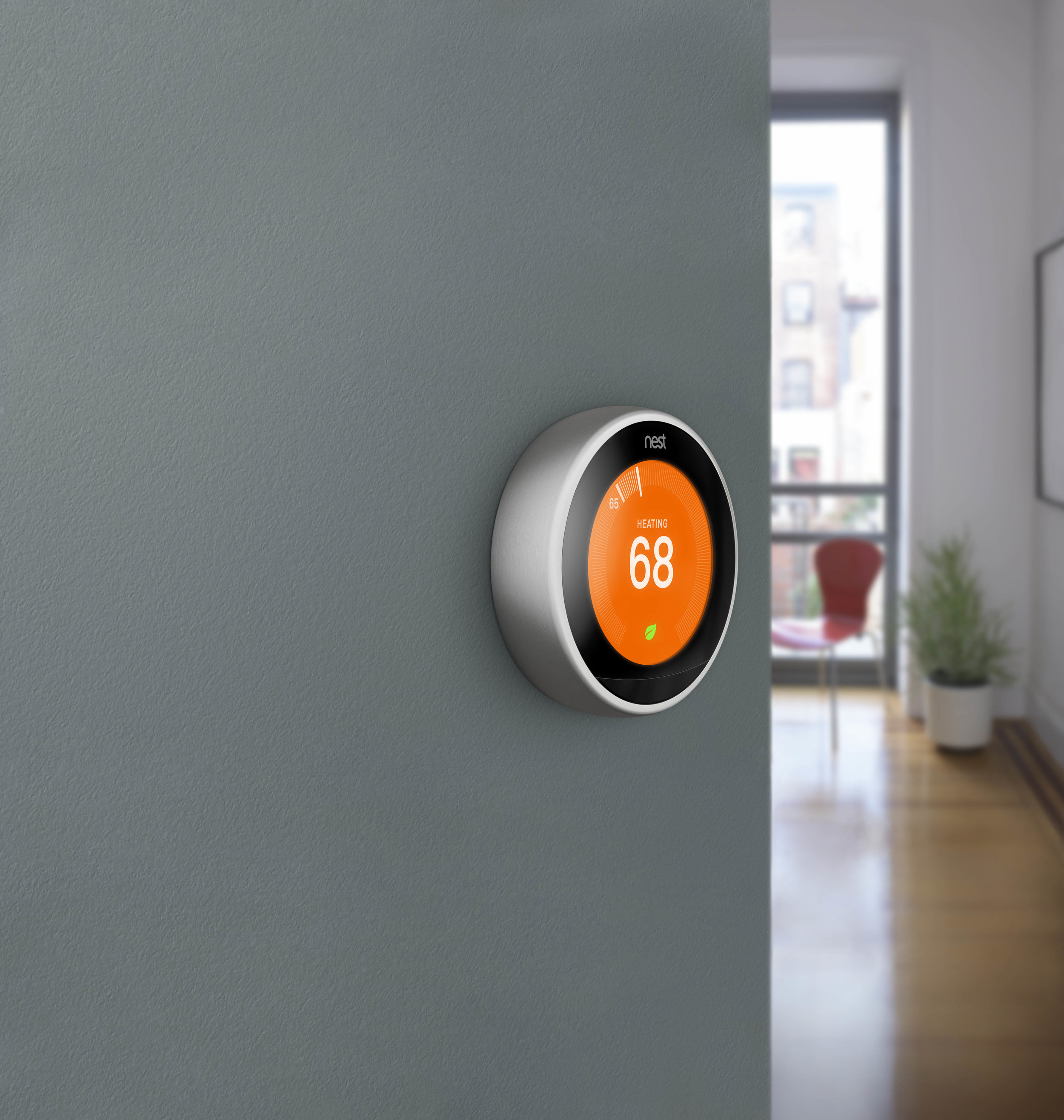 Nest Smart Thermostat - Nest has become an industry leader for their simple easy to use learning thermostat. Its modern looking and app controllable.