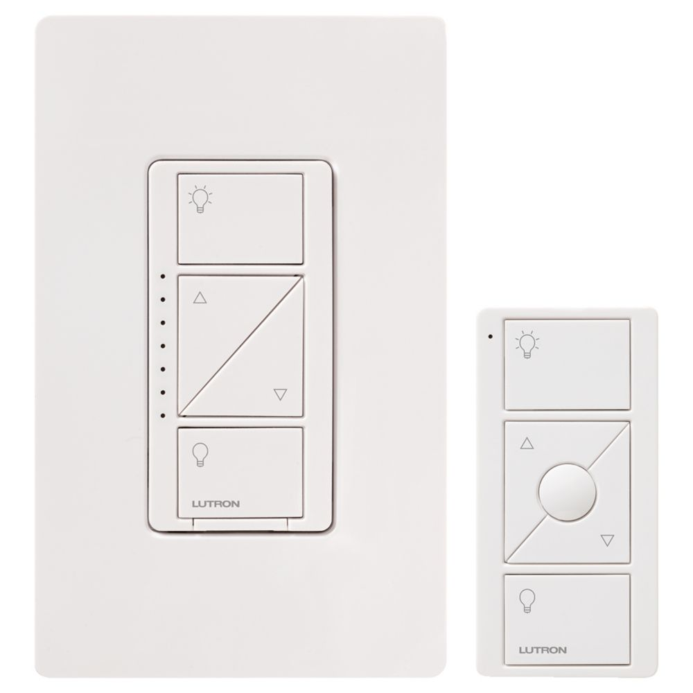 Lutron - Lutron is the industry leader in lighting control. the new Caseta line is one of the most affordable smart lighting systems. Stepping up to Radio Ra Select gives you a more traditional looking dimmer.