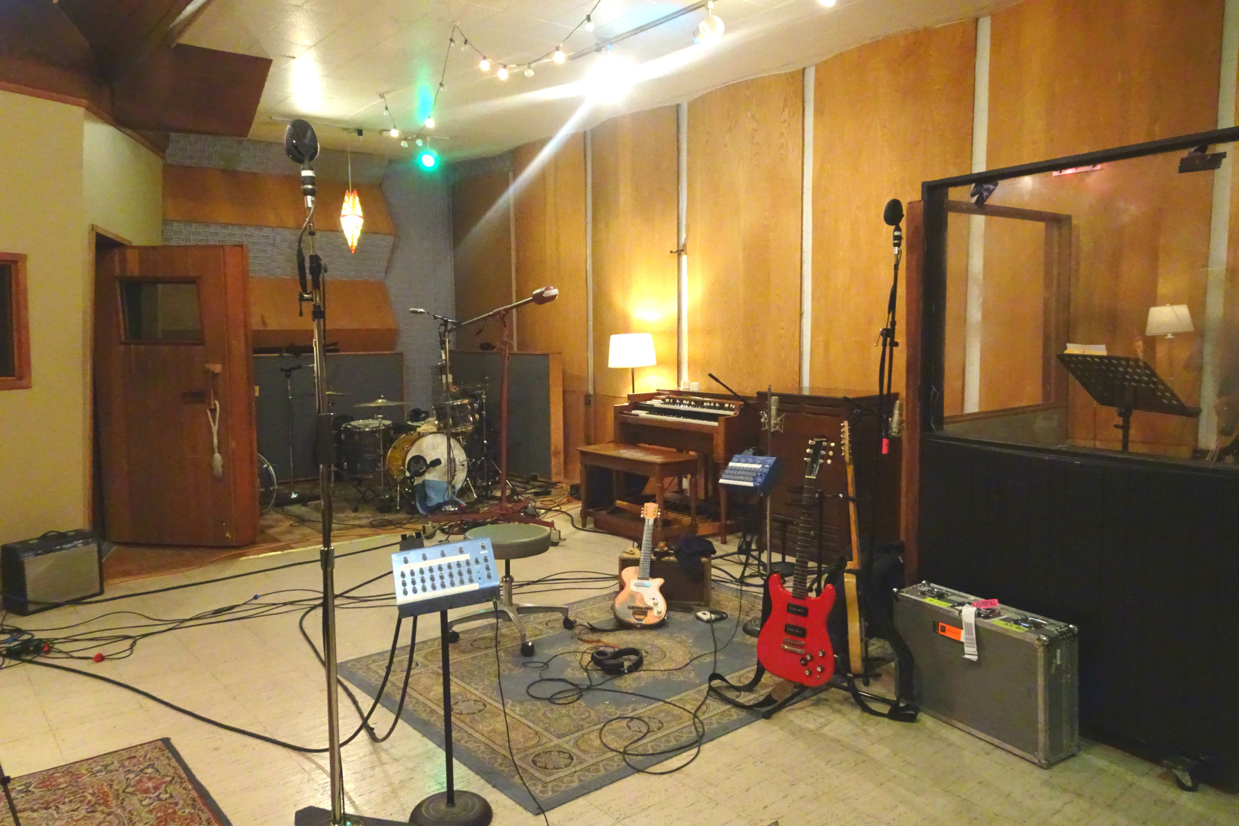 Boulevard Recording Studio; LA, CA