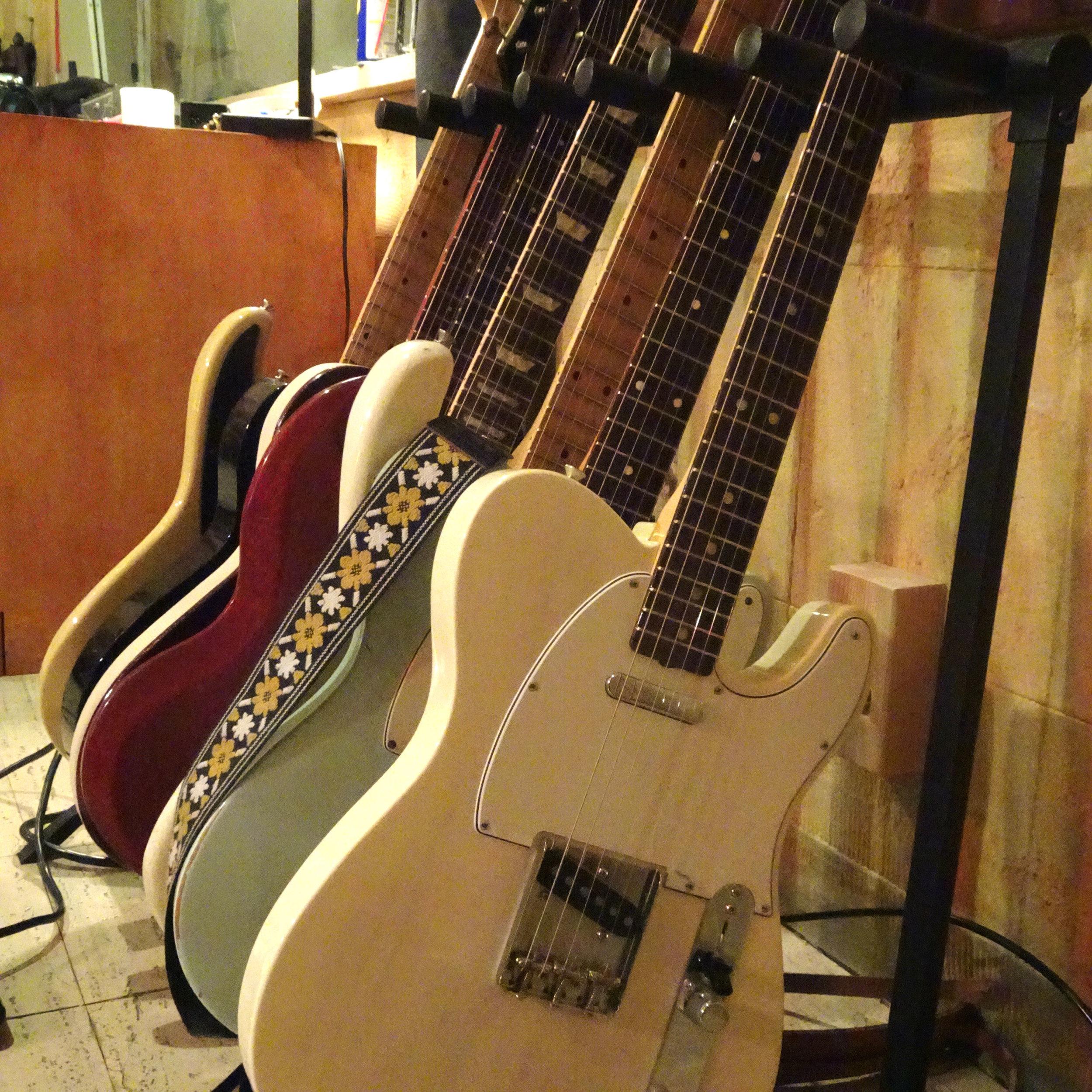 Rick Holmstrom's Guitars; LA, CA