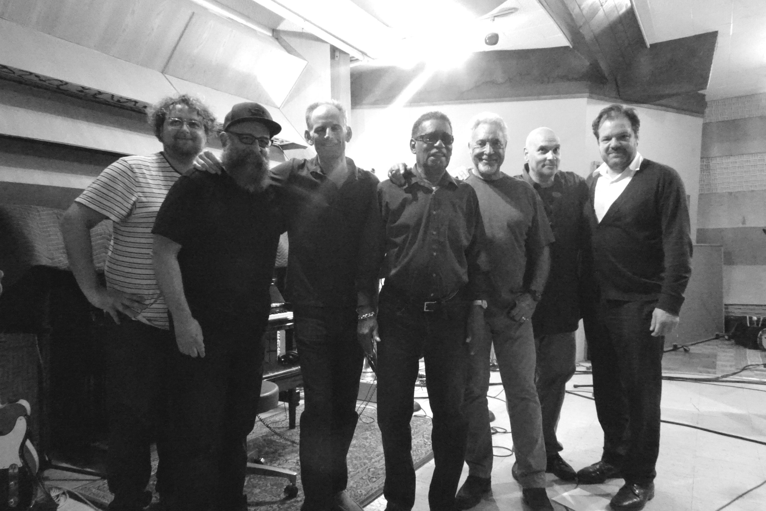 Clay Blair, Larry Taylor, Rick Holmstrom, Rudy Copeland, Tom Jones, M. Giovino, Jay Bellerose; LA, CA