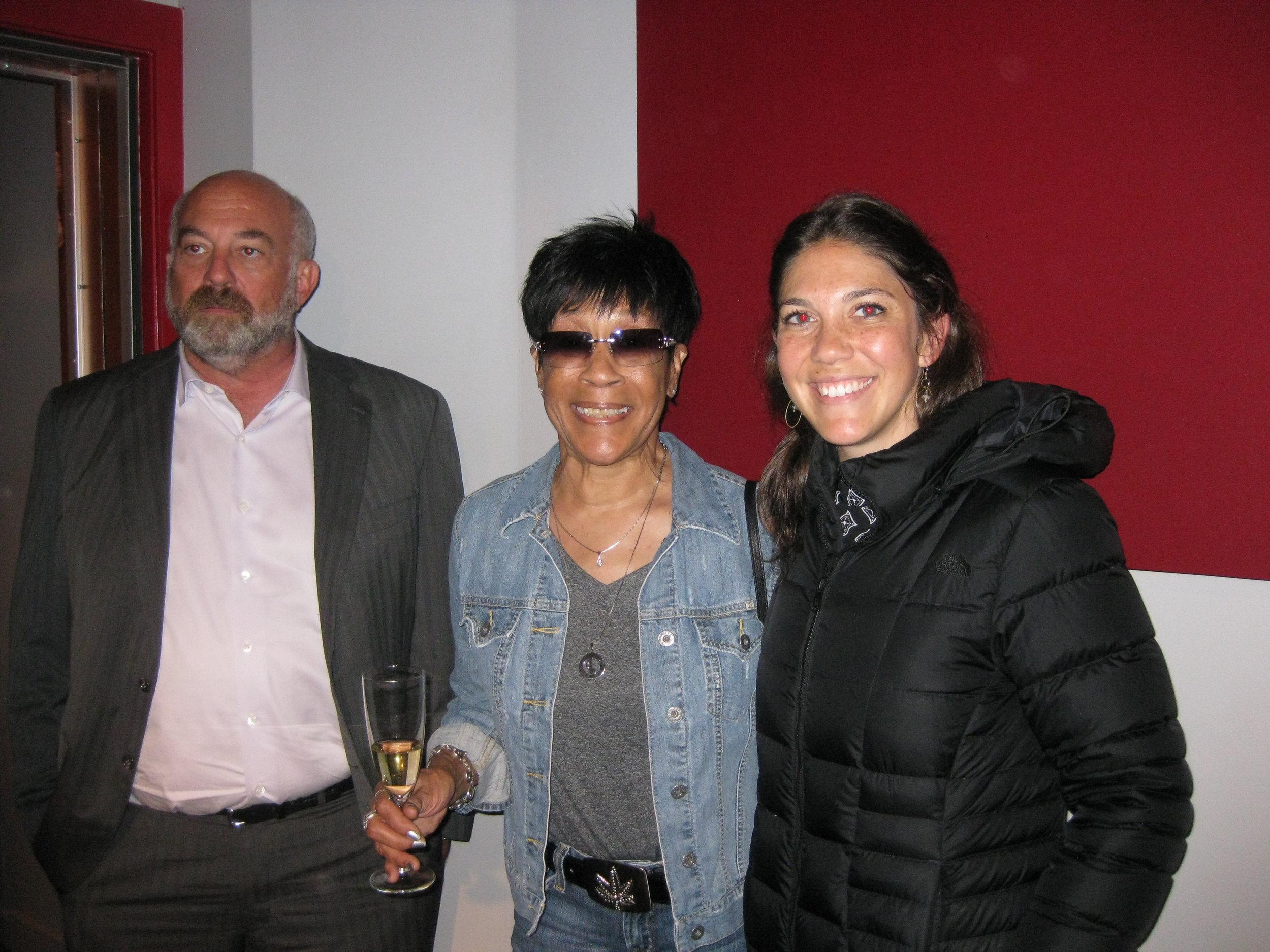 Tom Siering, Bettye Lavette, A. McDaniel; NYC