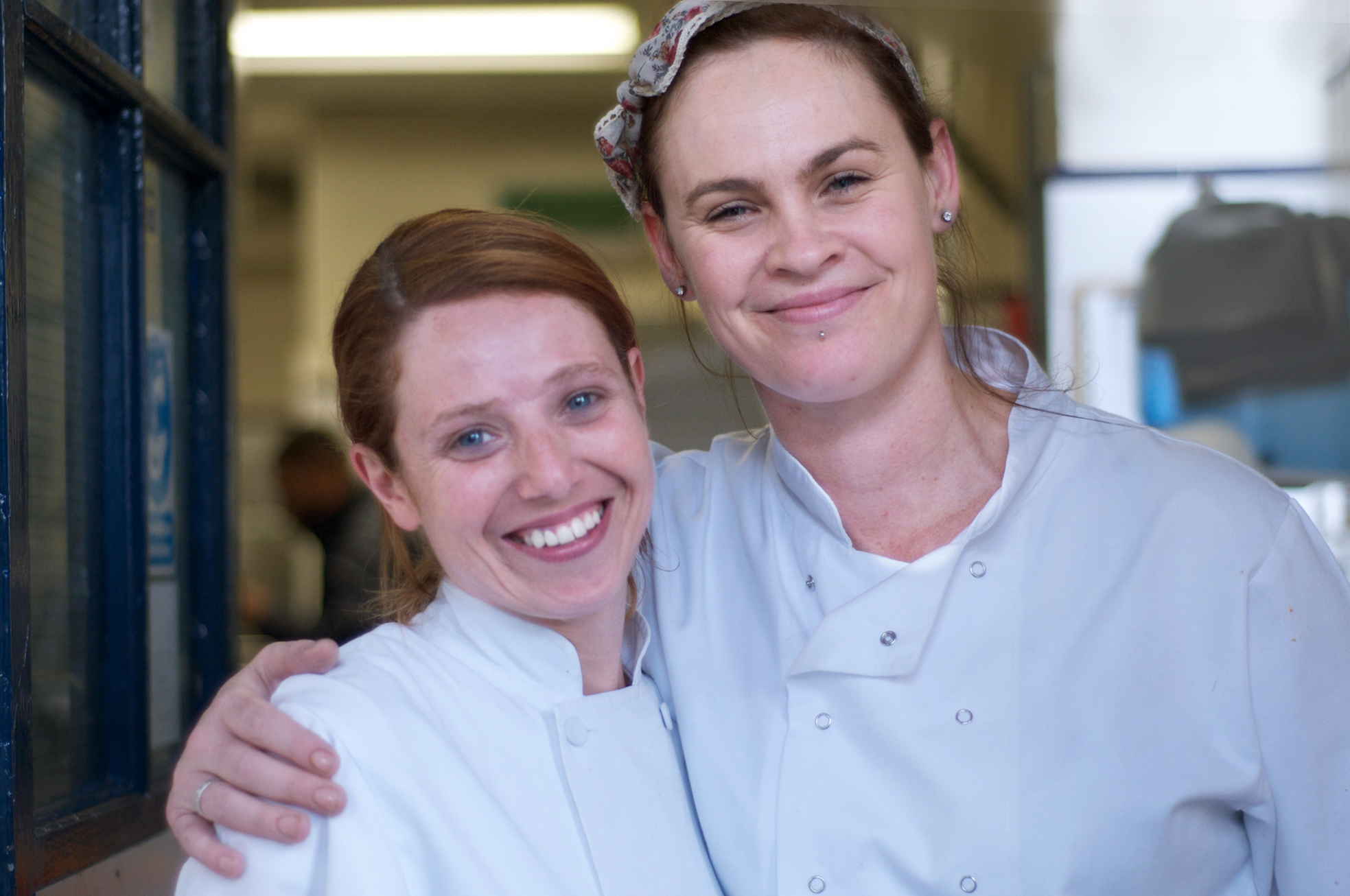 Nicole (left) and Chery-lynn