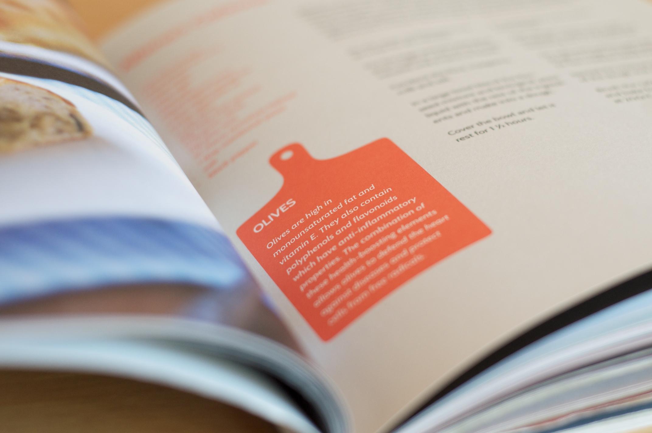 Vanessa's cookbook is full of nutrition advice