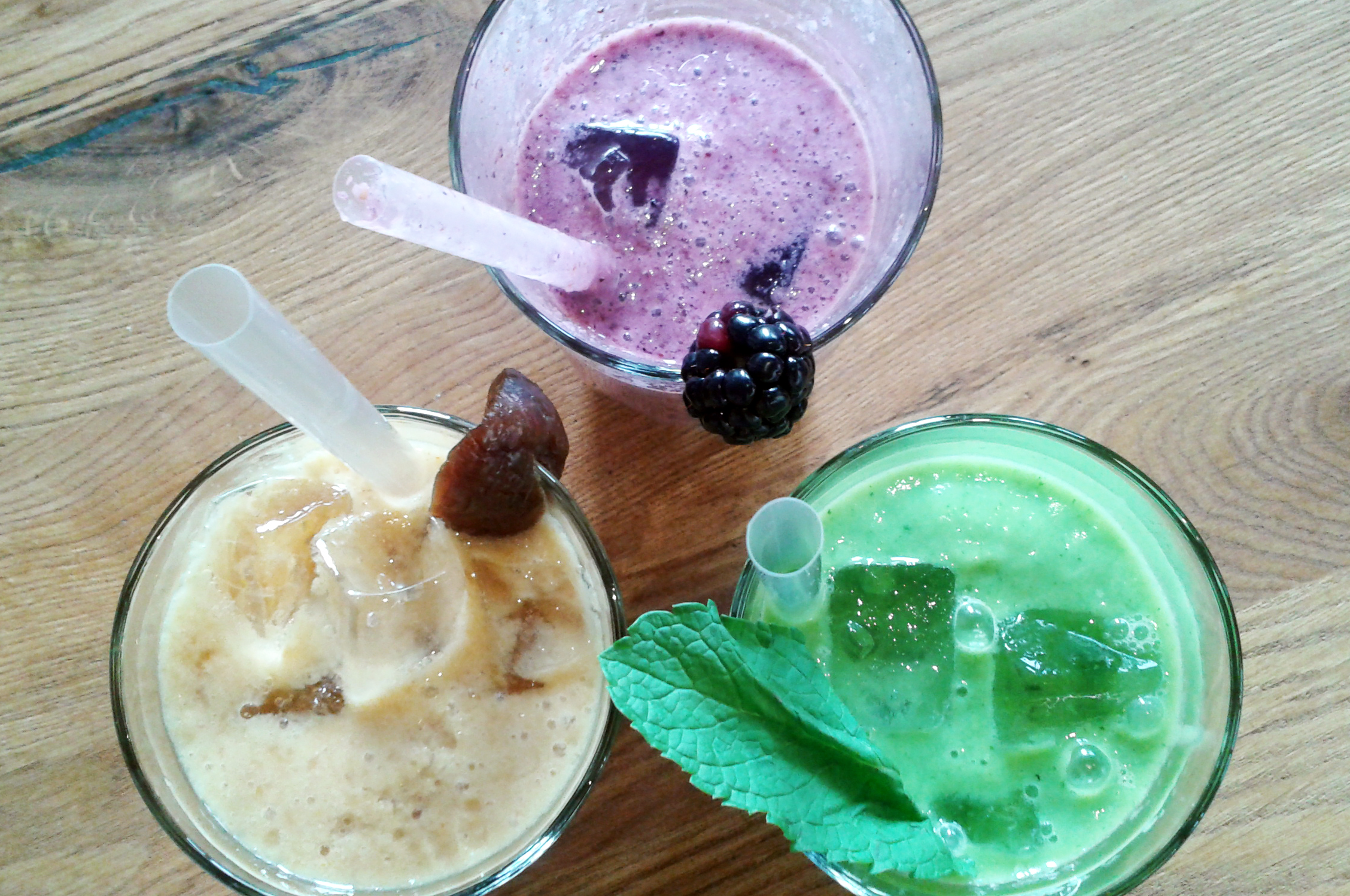 Andina's smoothies come in rich flavours and gorgeous hues