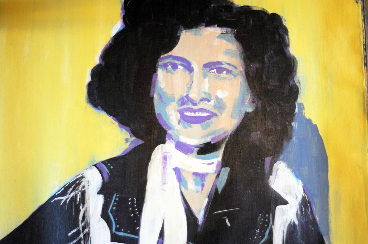 Patsy Cline, artwork by  Jamie Morrison