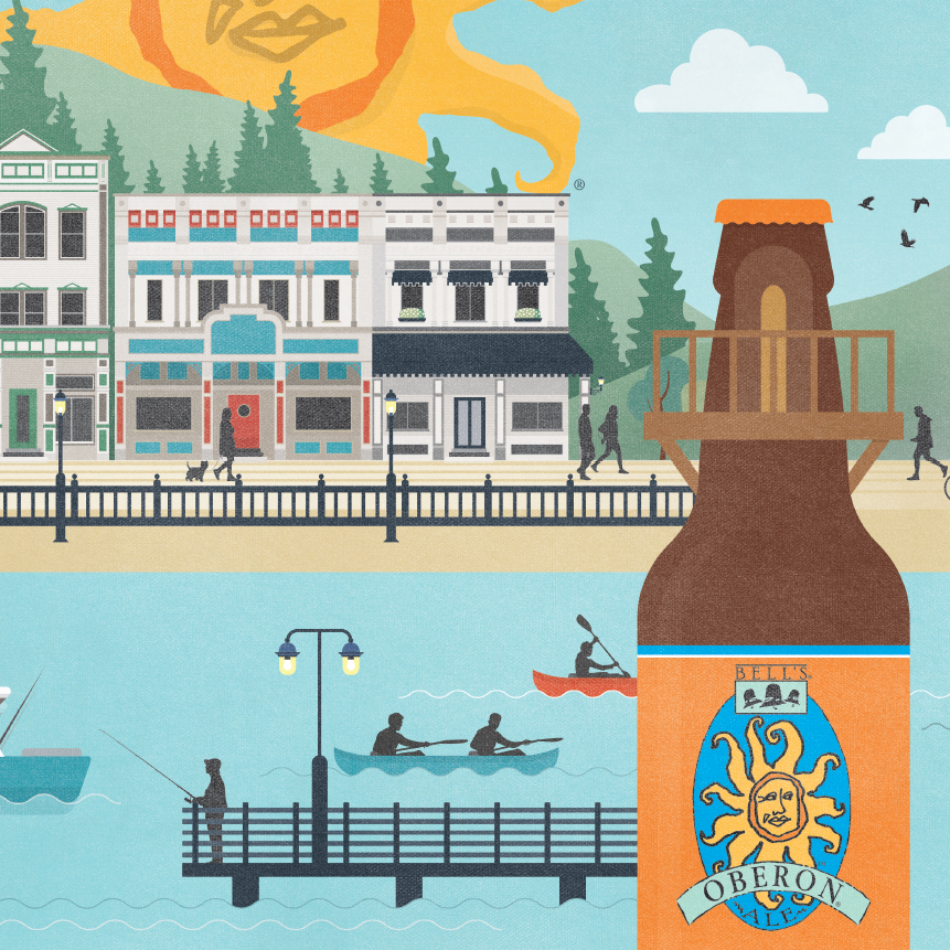 BELL'S BREWERY seasonal CAMPAIGN - advertising