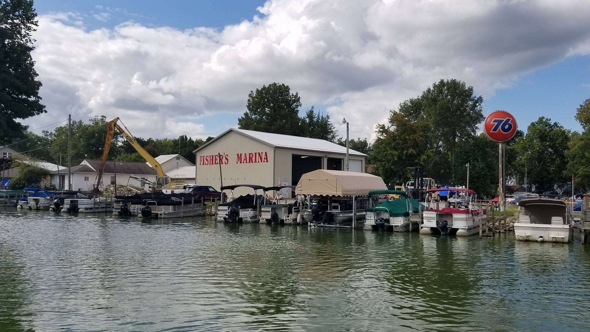 Life on the water is what makes Buckeye Lake so special, and Fisher's Marina has been serving boaters' needs since 1957.