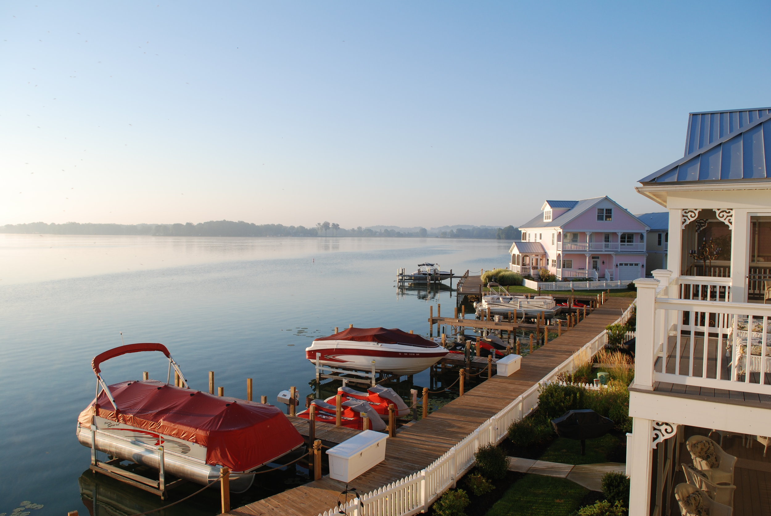 Explore living on the lake by calling e-Merge Real Estate!