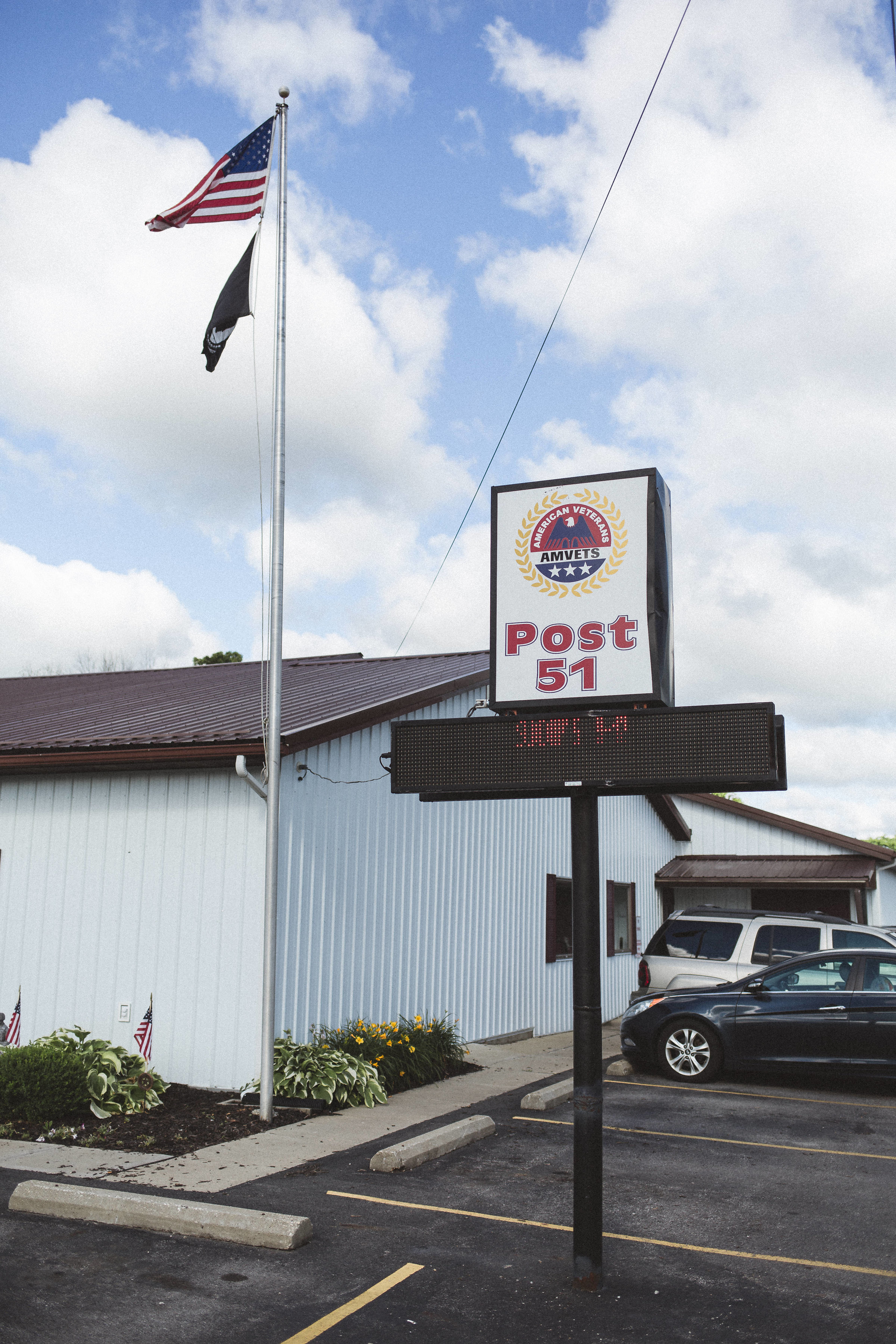 AMVETS Post 51 in Thornville, Ohio