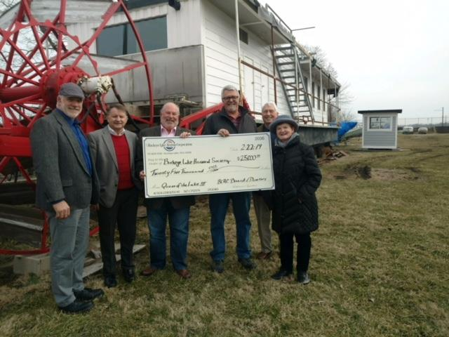 Buckeye Lake Region Corporation Donates Significant Funds to Assist Restoration Efforts for the Queen of the Lake III - Historic Sternwheeler will serve as a Key Attraction for Visitors to the Buckeye Lake Region