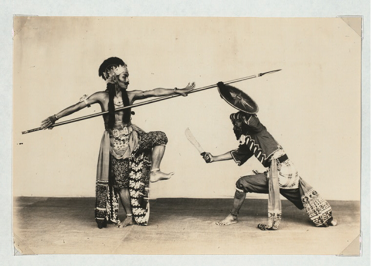 Research photograph by Claire Holt, Indonesian art historian, from the Claire Holt archives at the NYPL