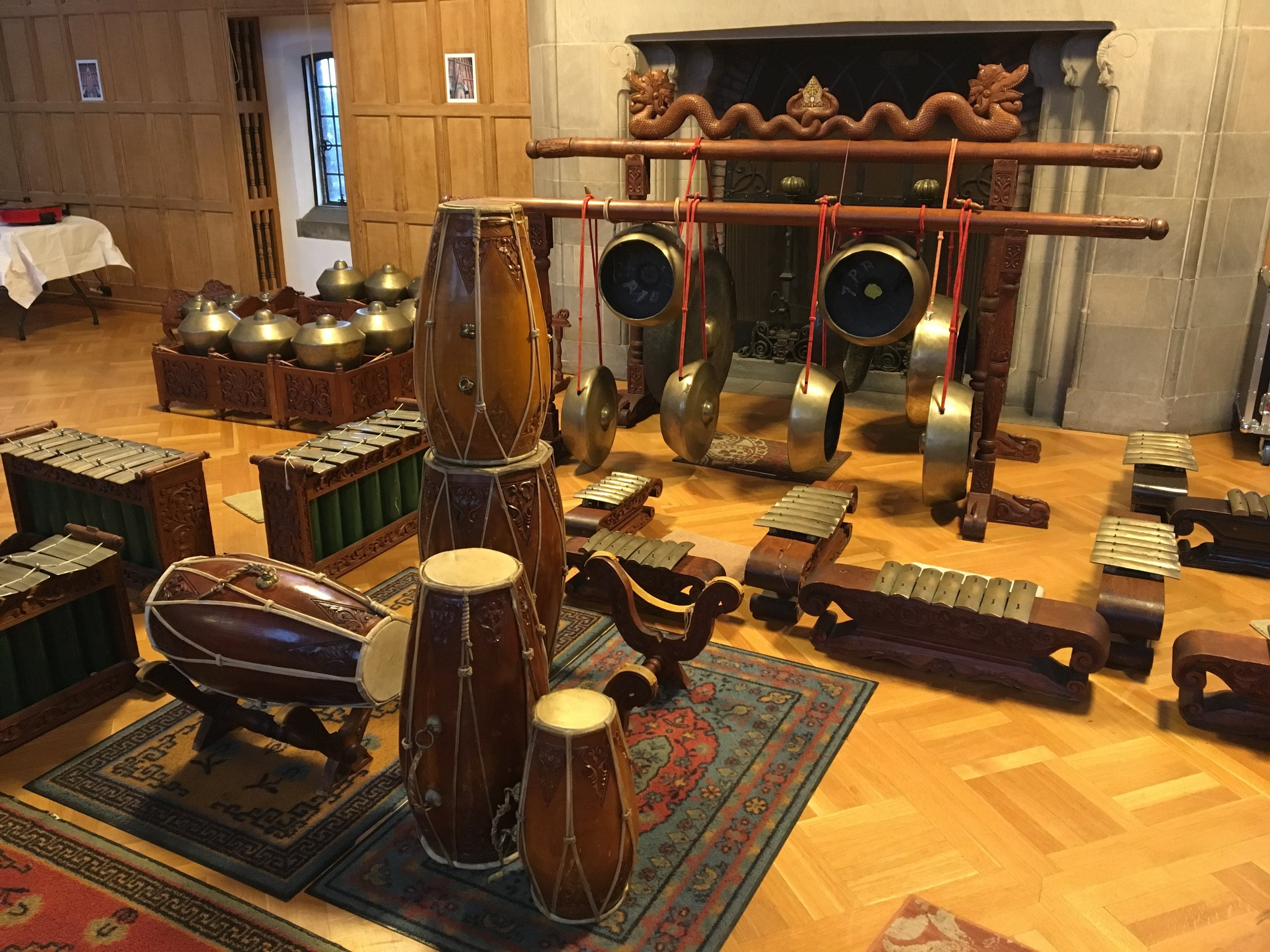 Gamelan, classical music traditions of Bali and Java, is a extremely popular musical form throughout the world, and one of the most distinctive and accessible cultural traditions of Indonesia.