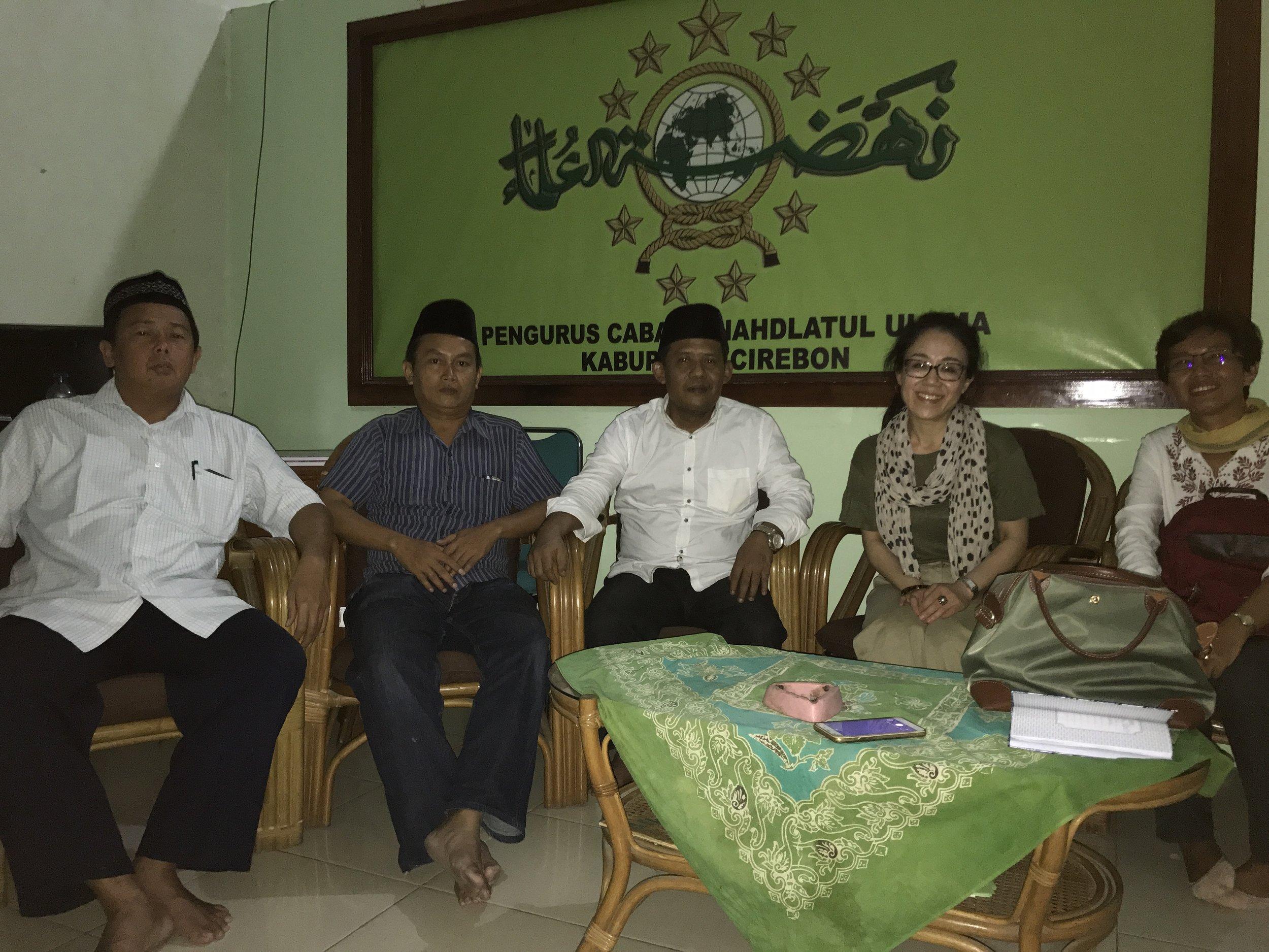 Dr. Kikue Hamayostu conducting research in Indonesia.